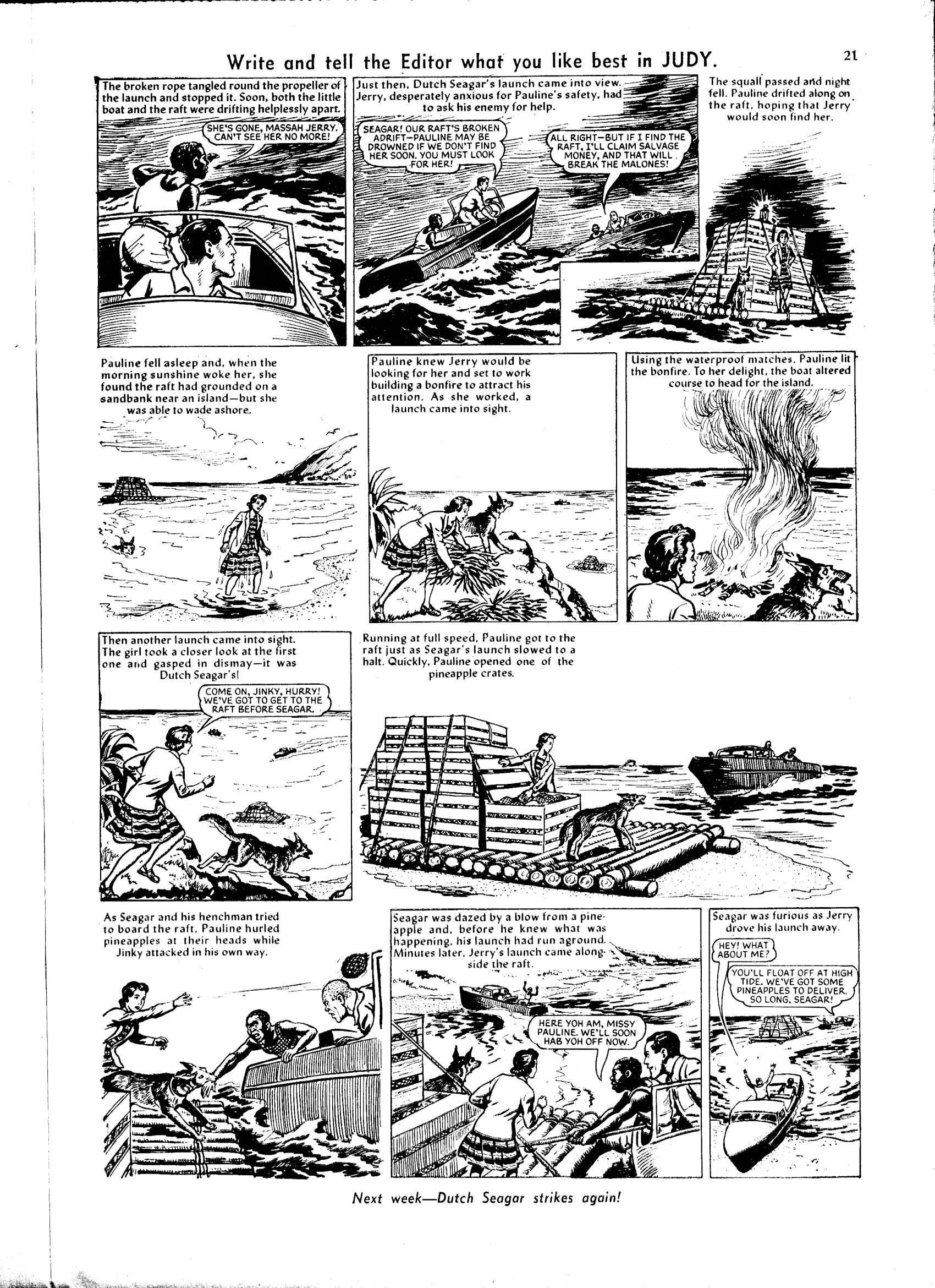 Read online Judy comic -  Issue #40 - 21
