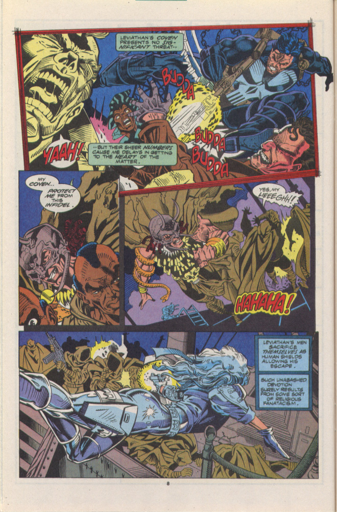 Read online Silver Sable and the Wild Pack comic -  Issue #10 - 7