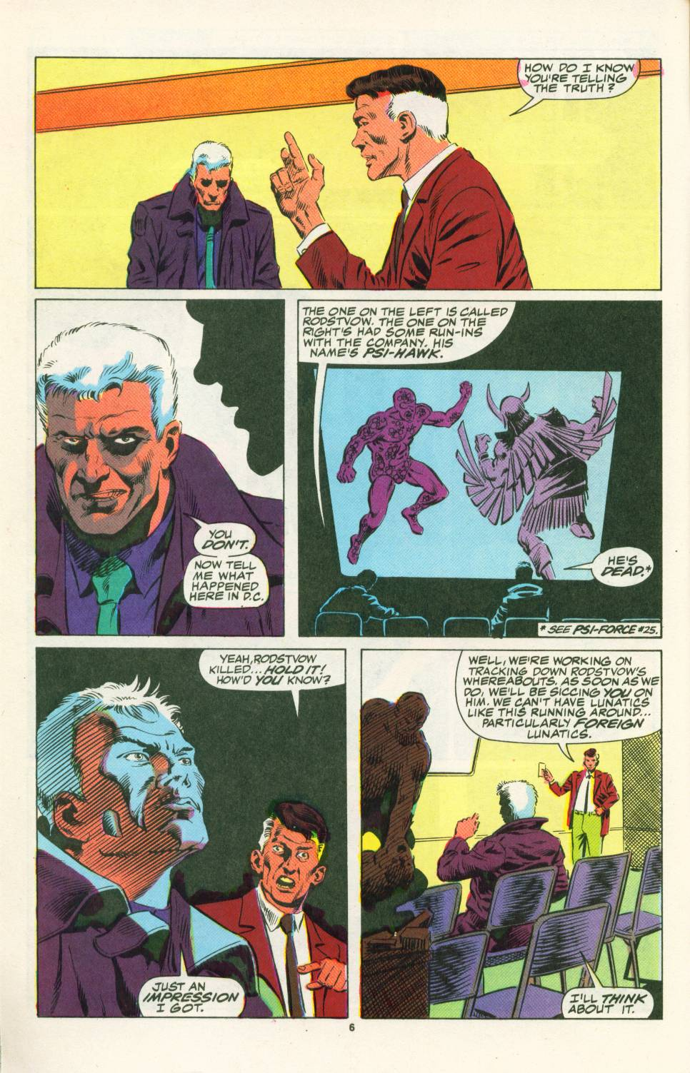 Read online Justice (1986) comic -  Issue #25 - 8