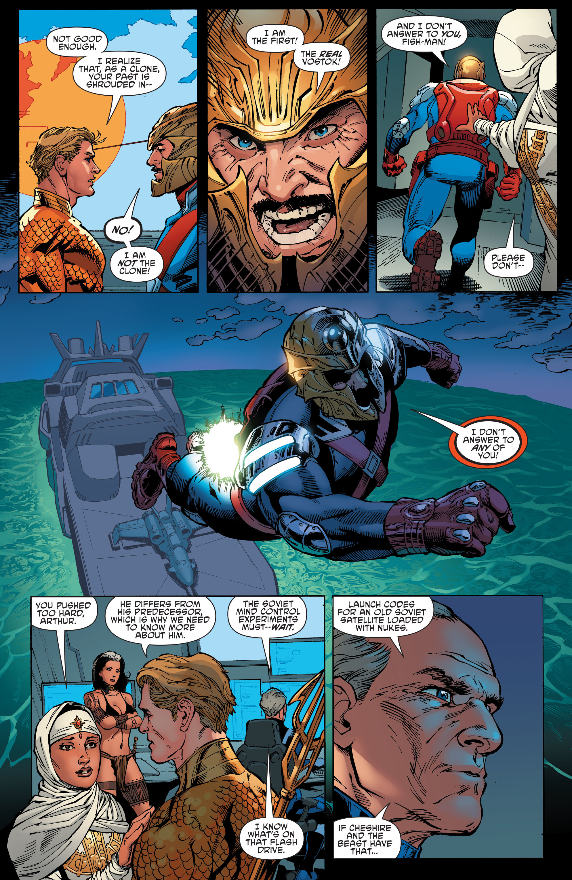 Read online Aquaman and the Others comic -  Issue #8 - 12