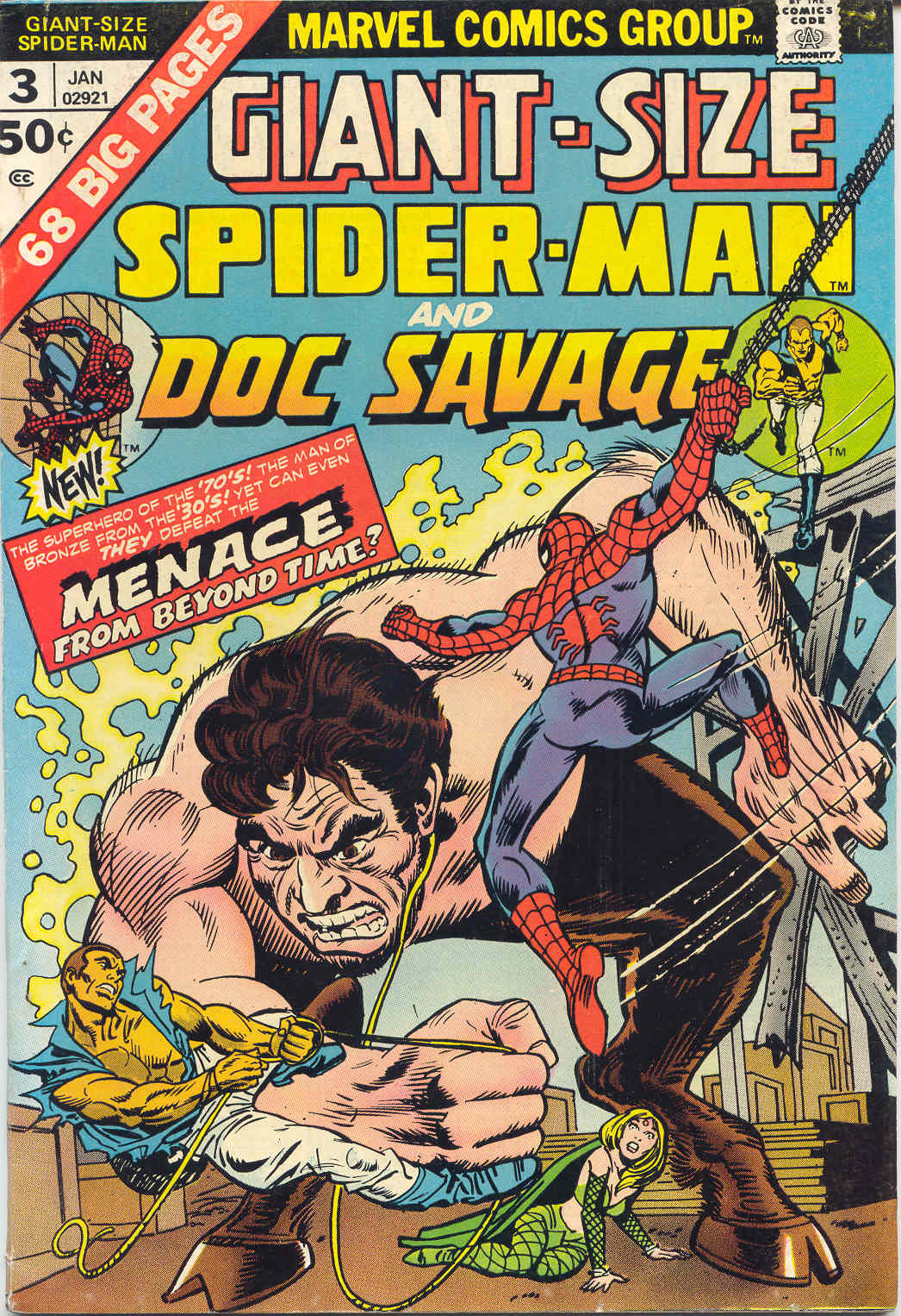 Giant-Size Spider-Man (1974) issue 3 - Page 1