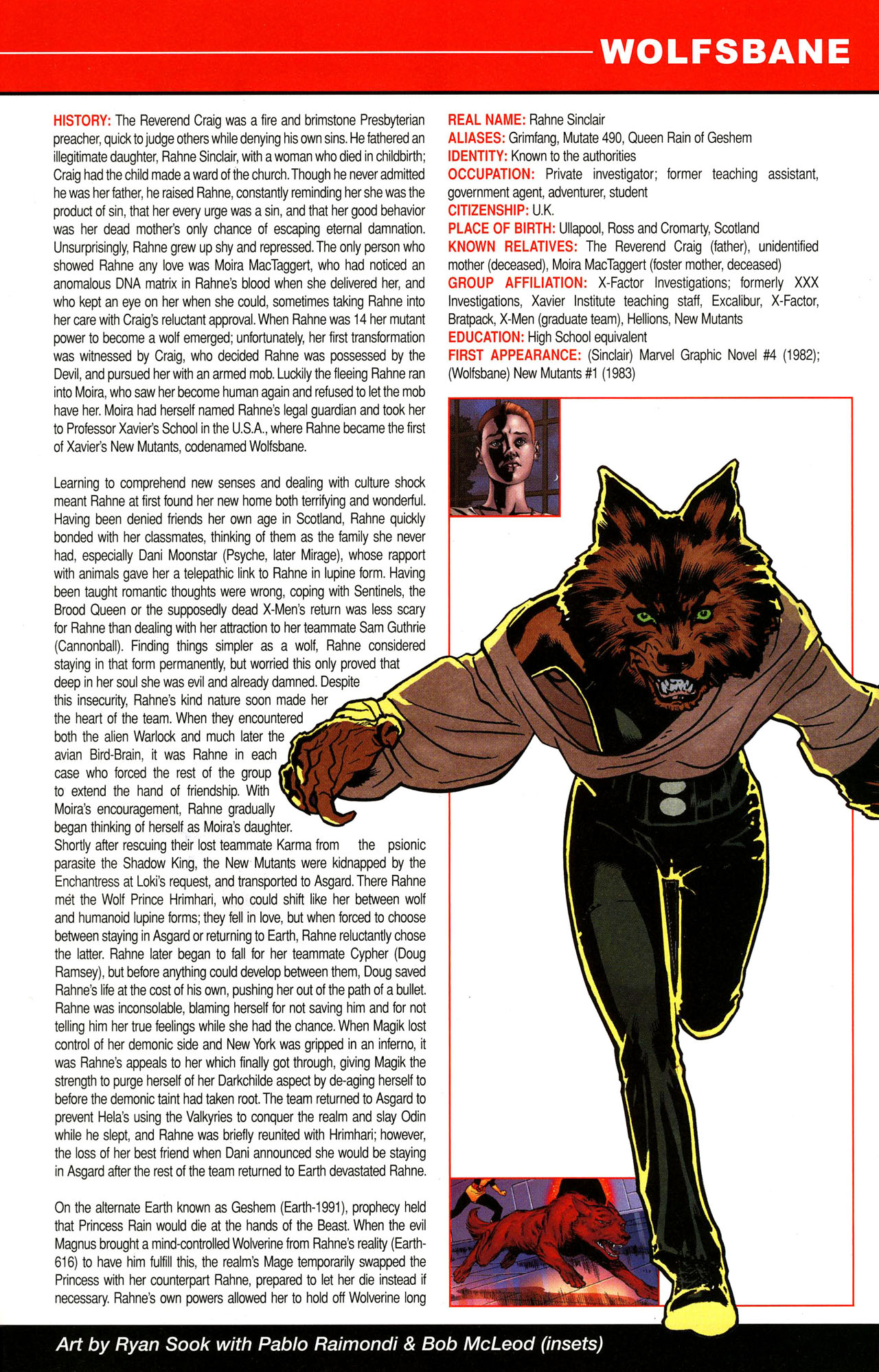 Read online All-New Official Handbook of the Marvel Universe A to Z comic -  Issue #12 - 47