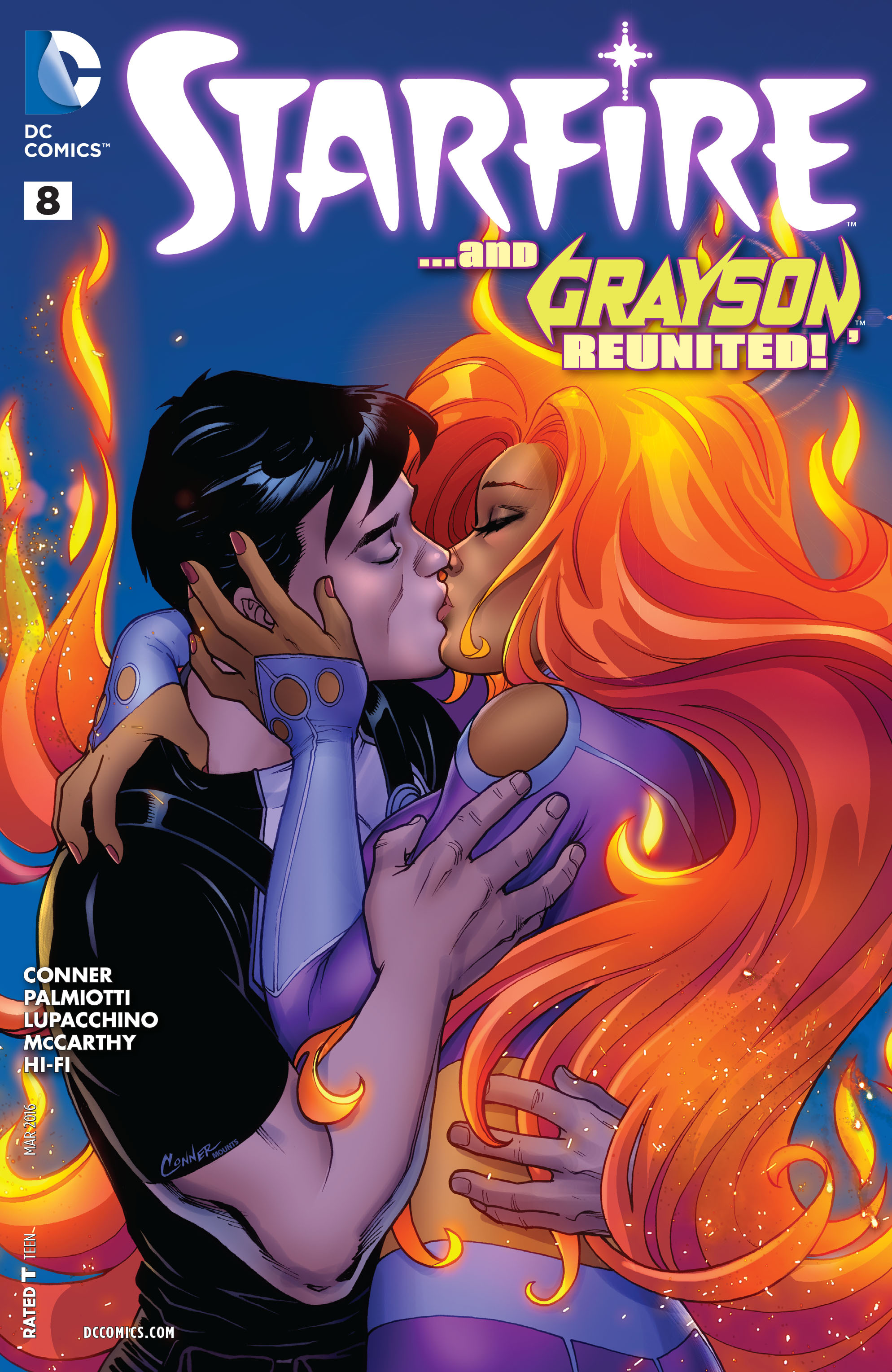 Starfire (2015) issue 8 - Page 1
