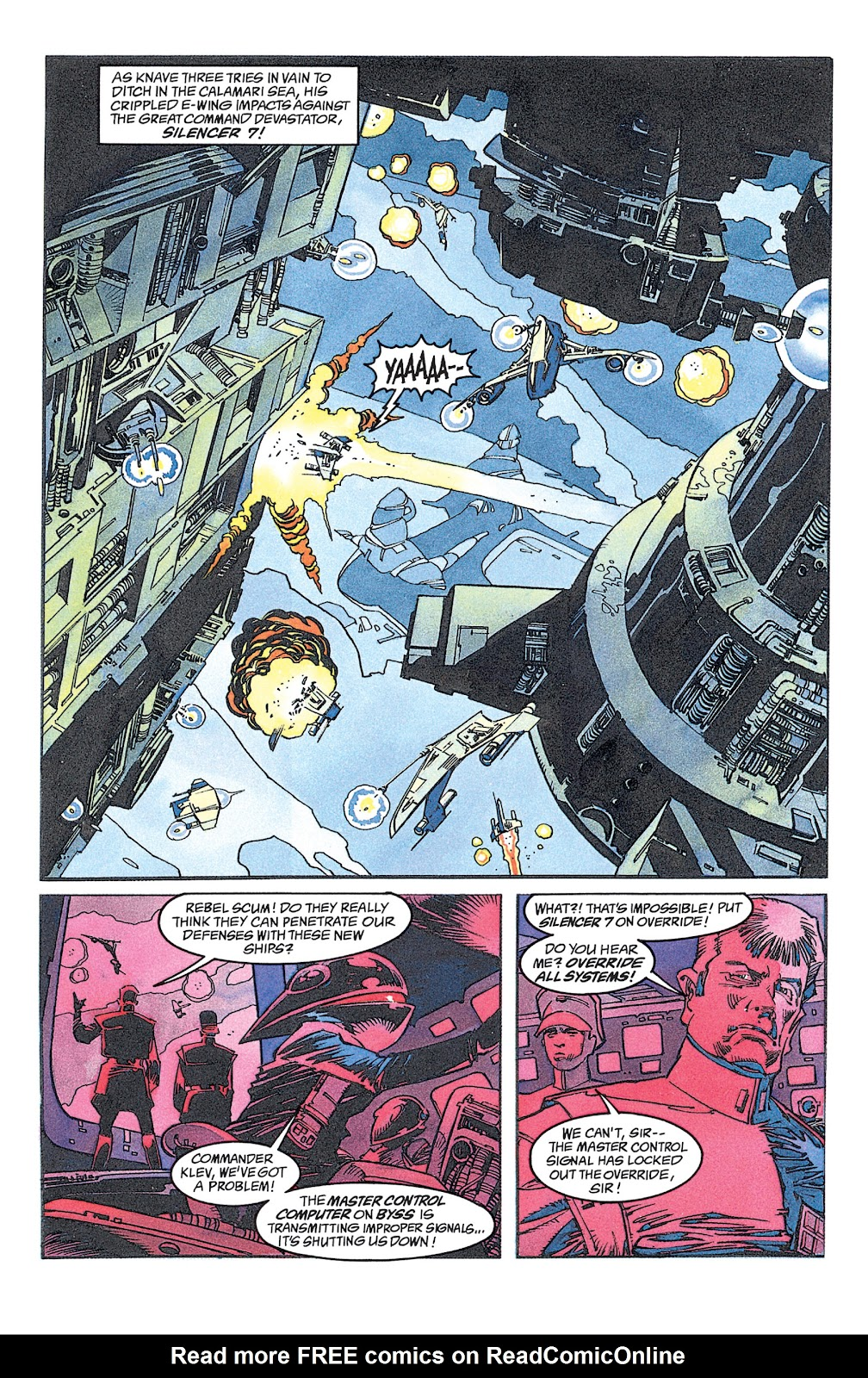 Read online Star Wars: Dark Empire Trilogy comic -  Issue # TPB (Part 1) - 91
