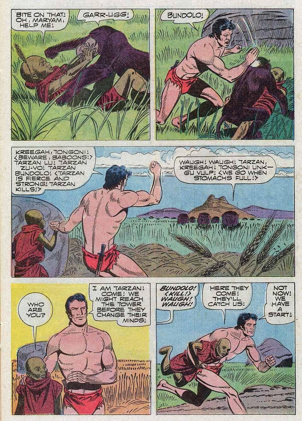 Tarzan (1962) issue 204 - Page 9