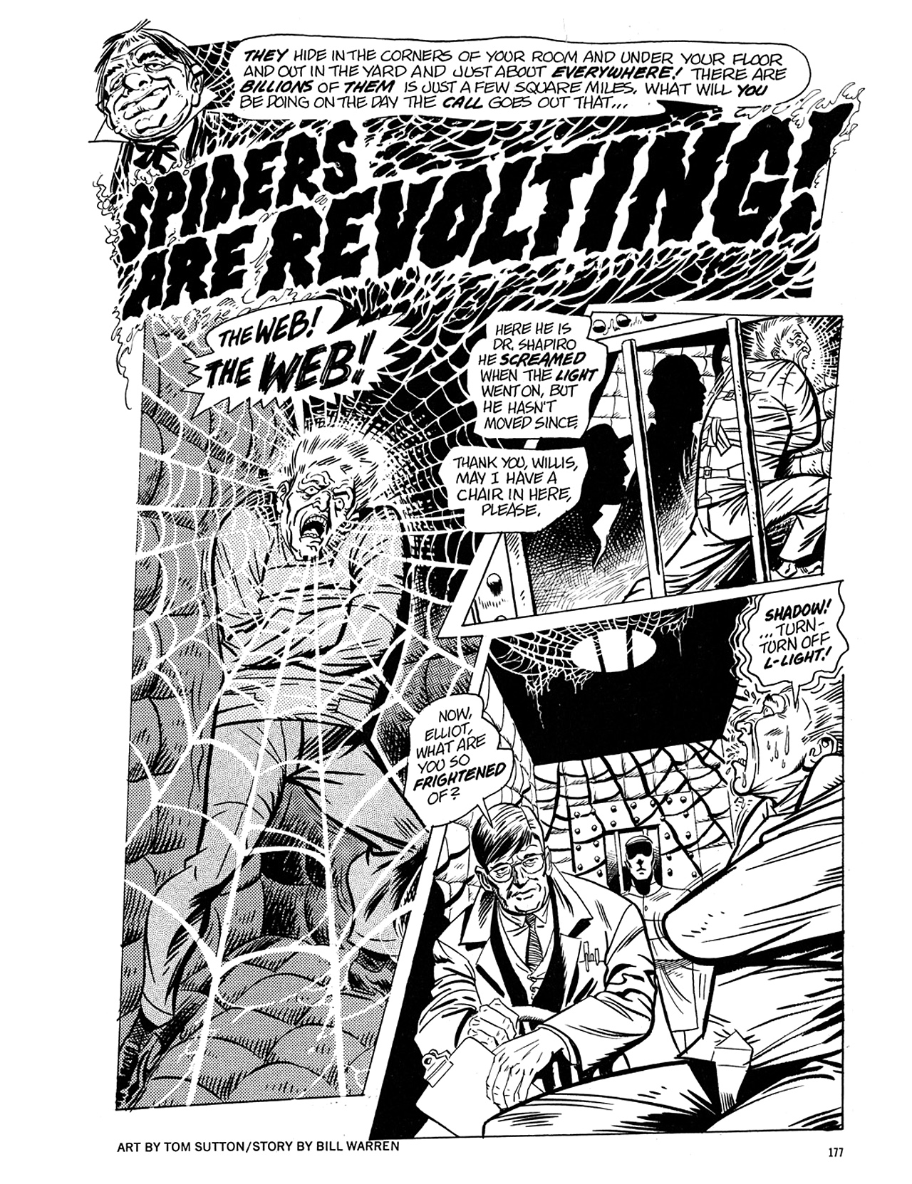 Read online Eerie Archives comic -  Issue # TPB 5 - 178