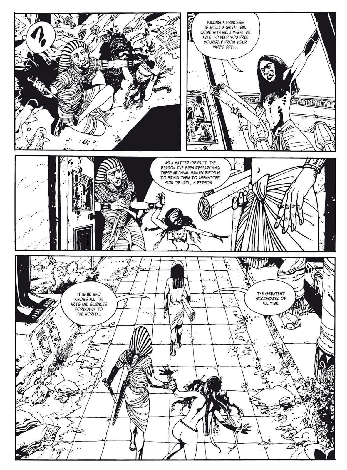 Read online The Egyptian Princesses comic -  Issue # TPB 1 (Part 1) - 53