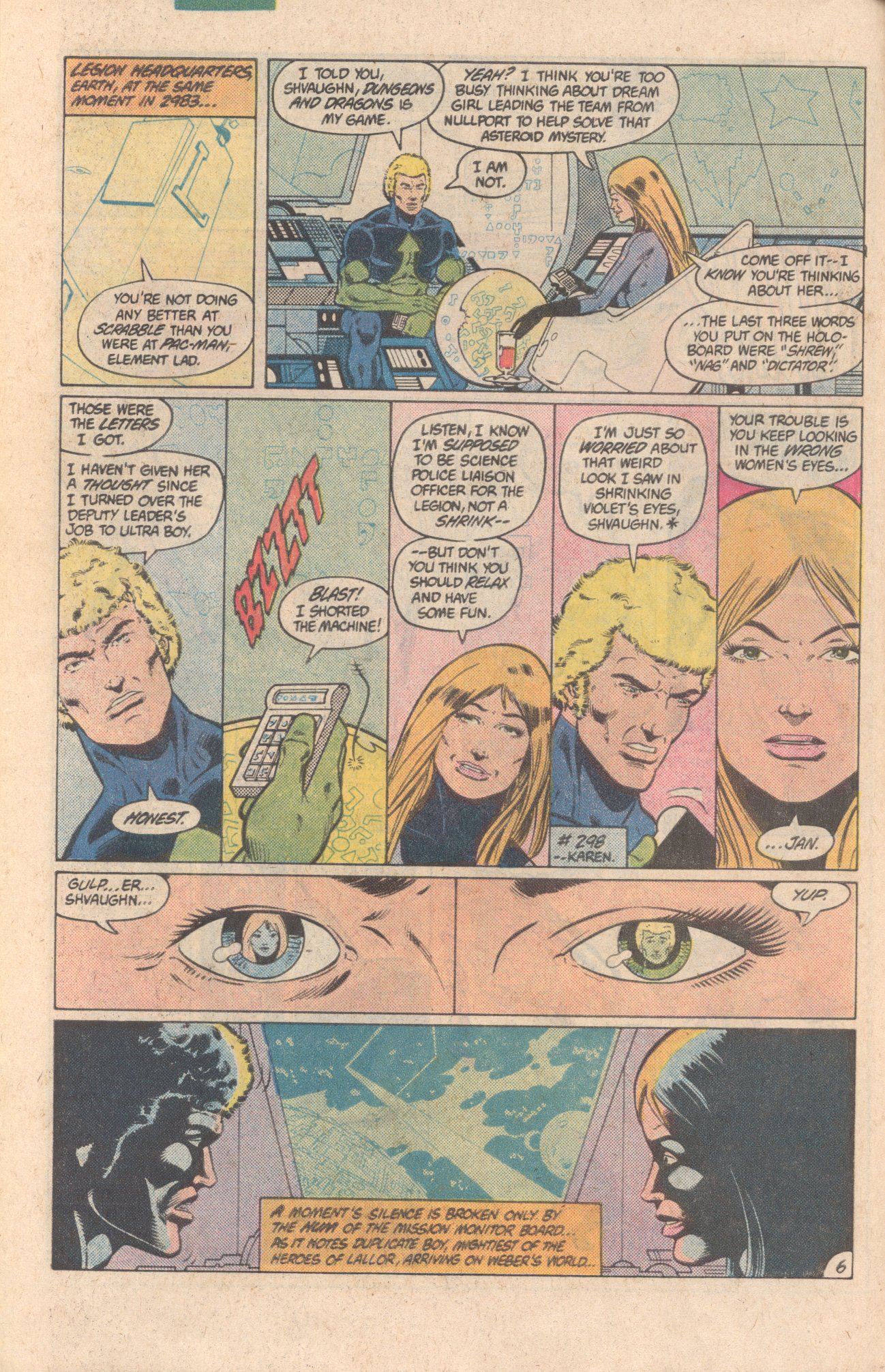 Legion of Super-Heroes (1980) 299 Page 6