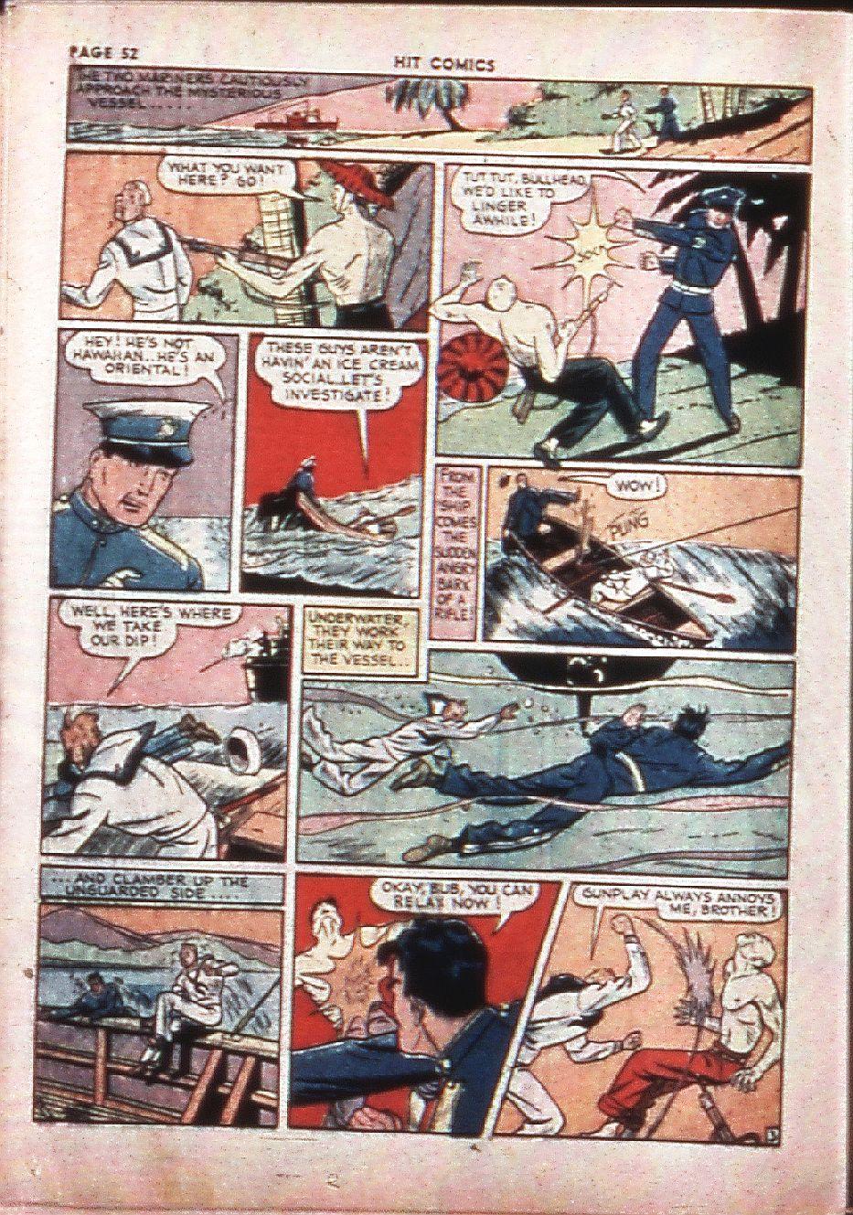 Read online Hit Comics comic -  Issue #4 - 54