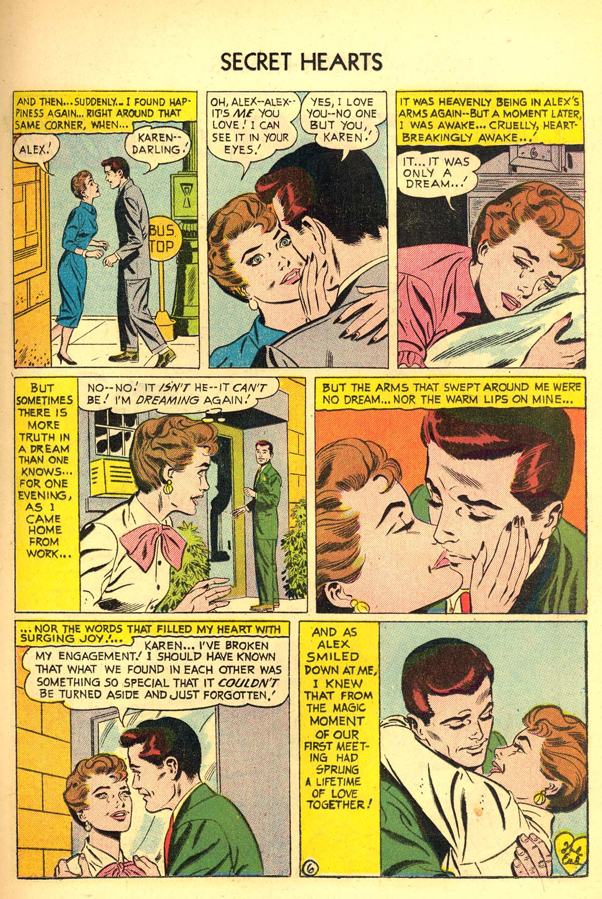 Read online Secret Hearts comic -  Issue #34 - 15