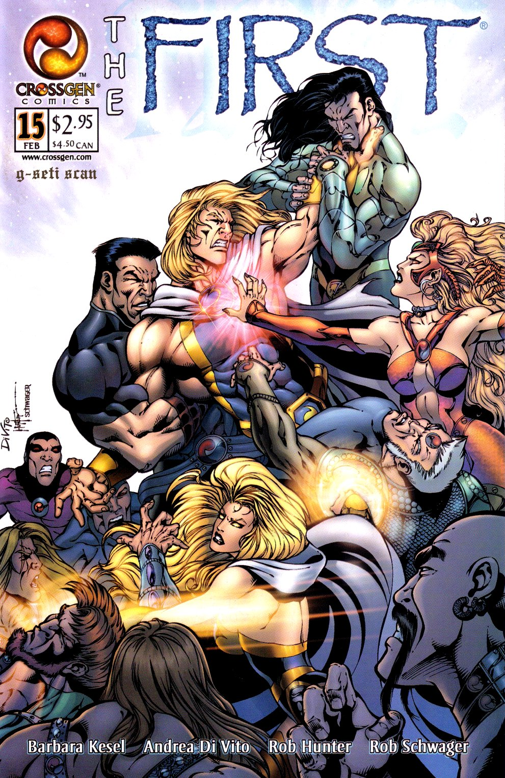 The First issue 15 - Page 1