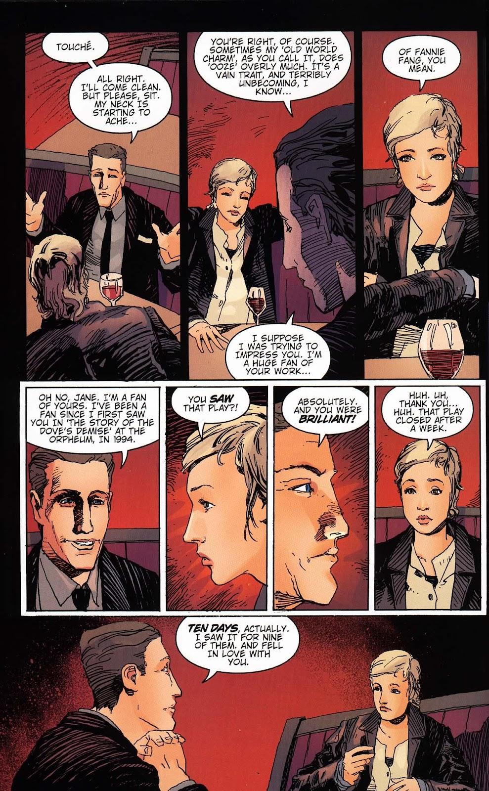 Read online Vampire the Masquerade comic -  Issue # Toreador - 20