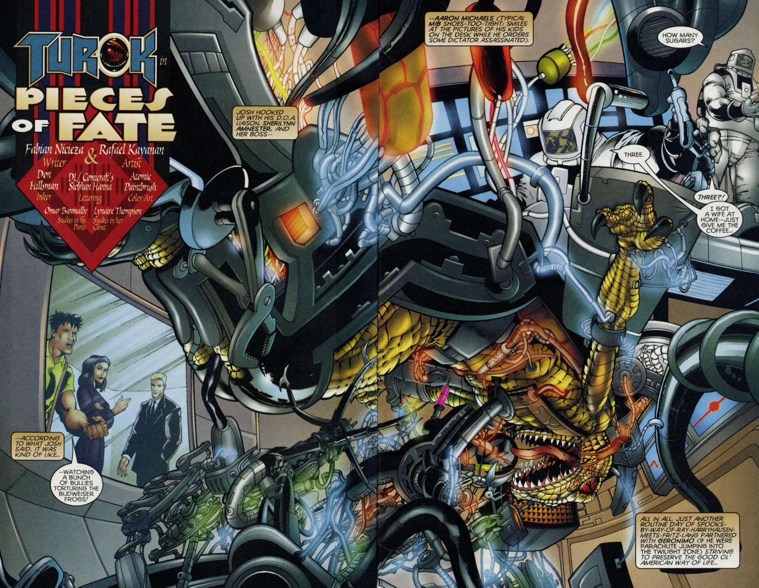 Read online Turok comic -  Issue #3 - 3