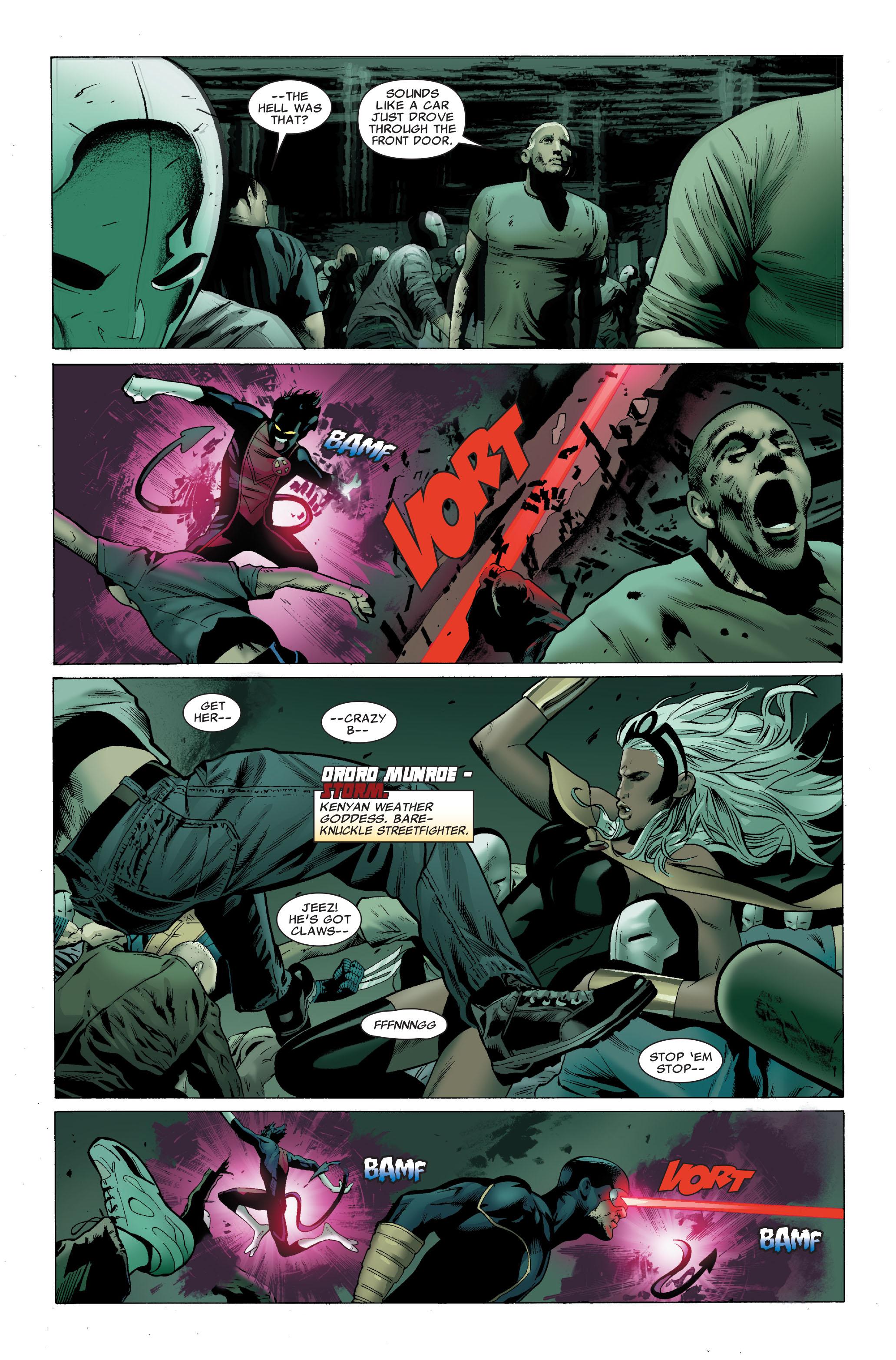 Read online Uncanny X-Men (1963) comic -  Issue #502 - 19