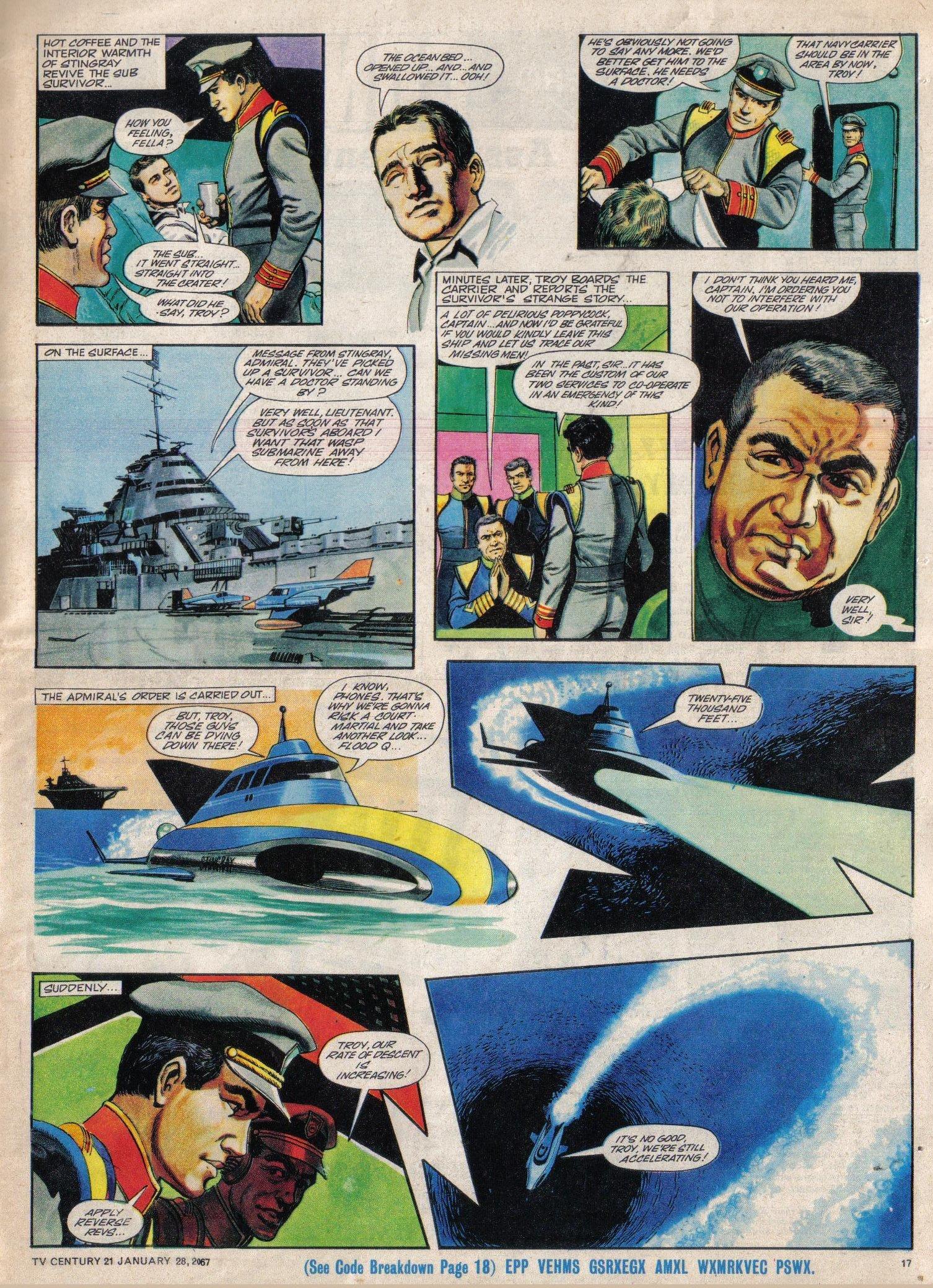 Read online TV Century 21 (TV 21) comic -  Issue #106 - 16