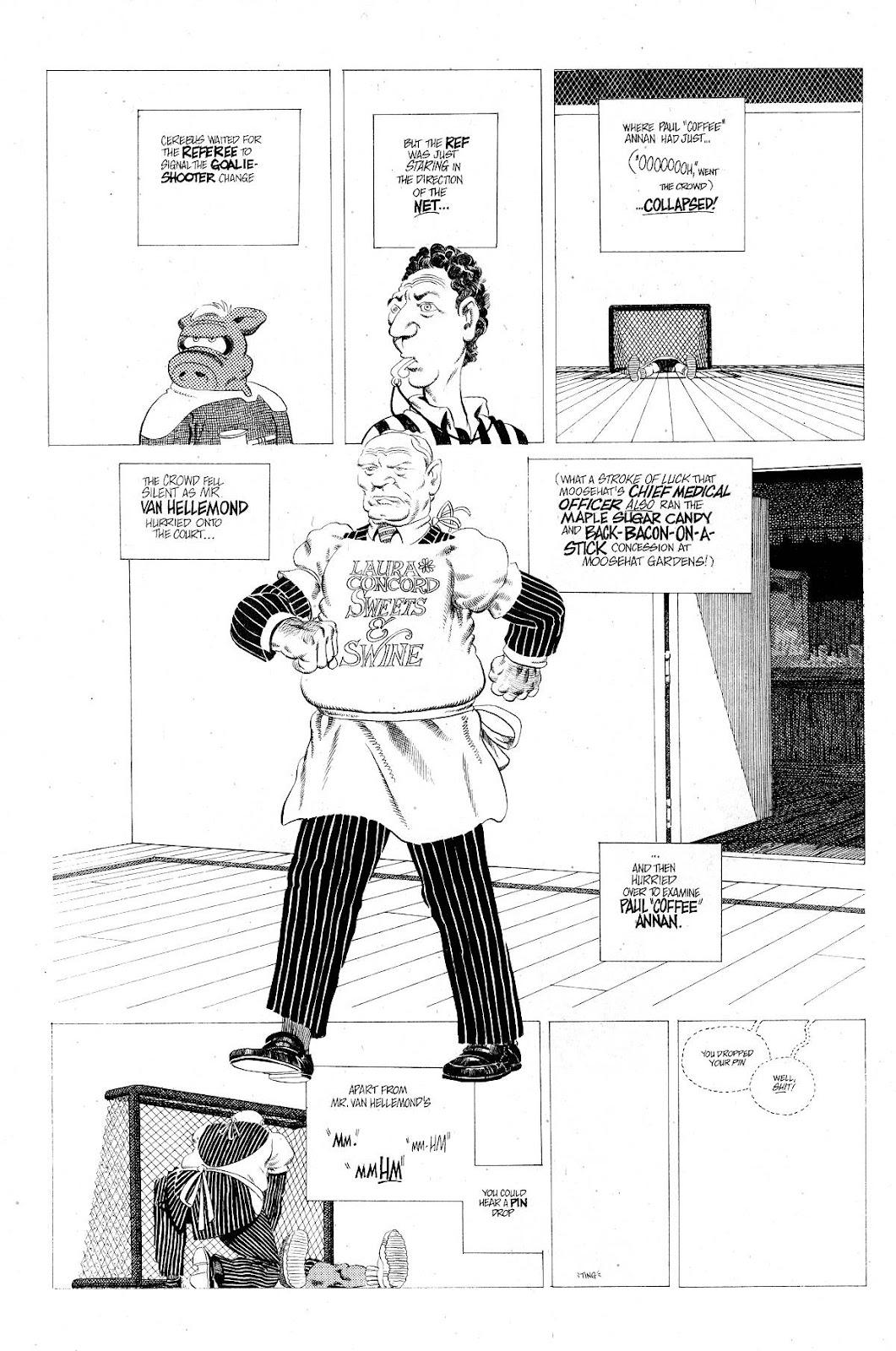 Cerebus Issue #267 #266 - English 20