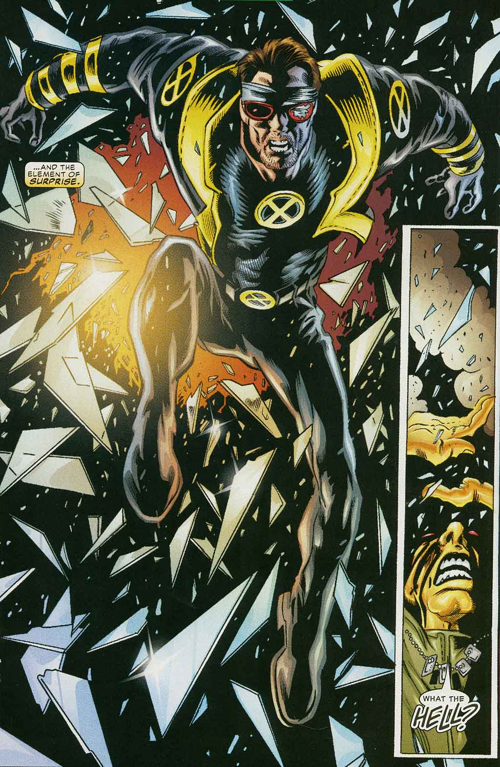 Read online Cyclops (2001) comic -  Issue #4 - 9
