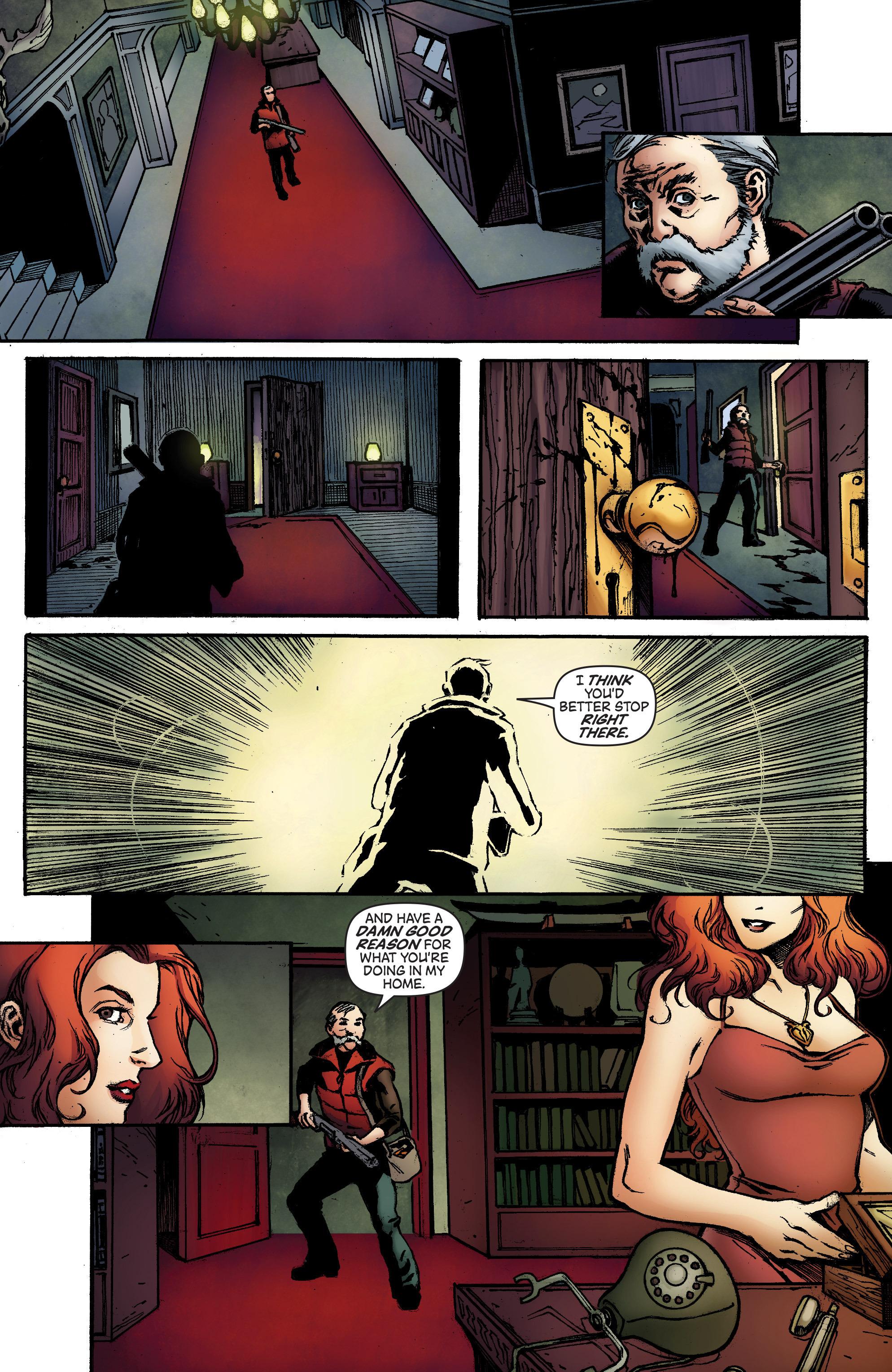 Read online IXth Generation Hidden Files comic -  Issue #1 - 24