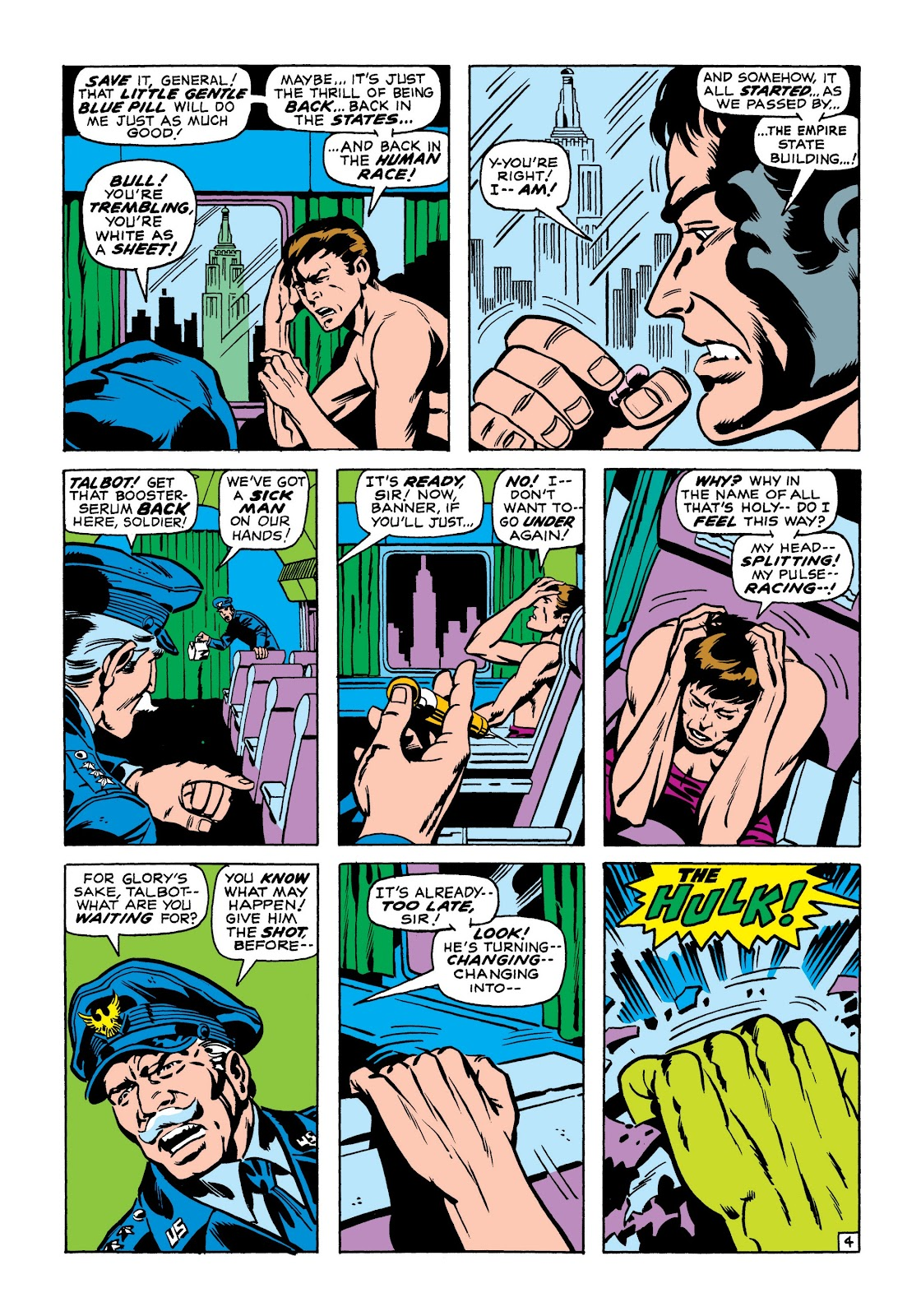 Read online Marvel Masterworks: The Incredible Hulk comic -  Issue # TPB 7 (Part 1) - 31