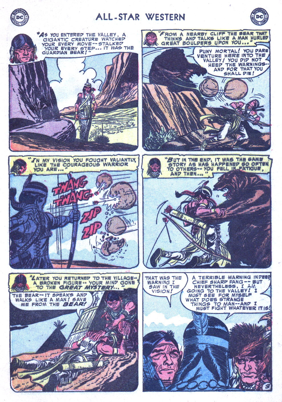 Read online All-Star Western (1951) comic -  Issue #77 - 13