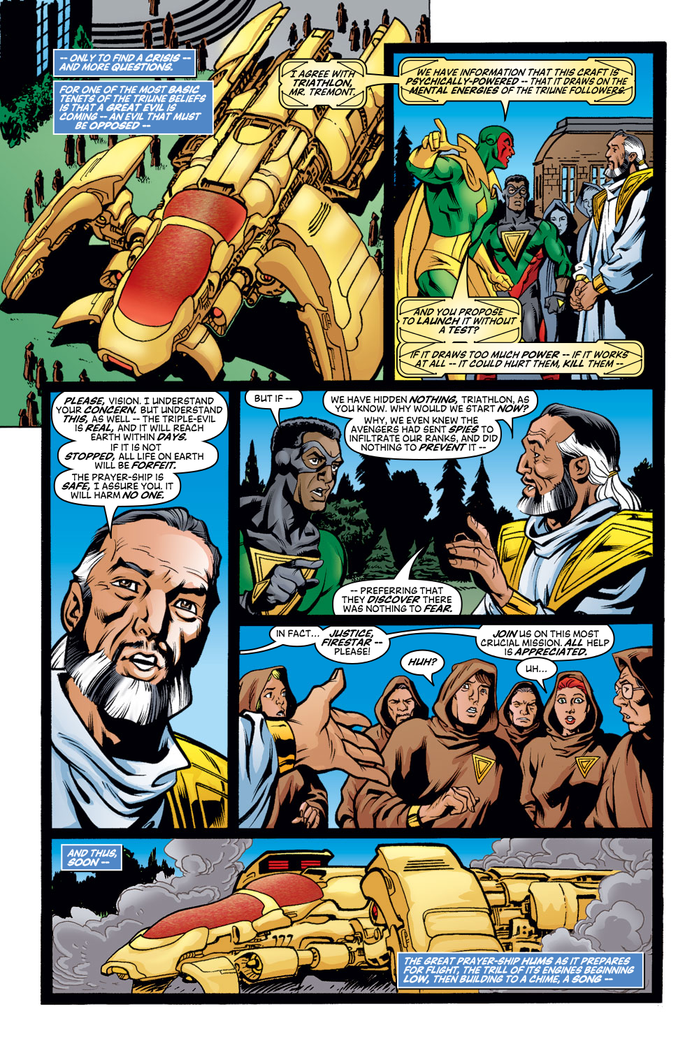 Read online Avengers (1998) comic -  Issue #48 - 9