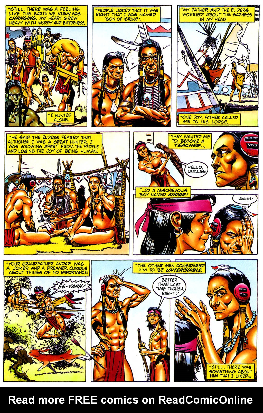 Read online Turok, Dinosaur Hunter (1993) comic -  Issue #0 - 14