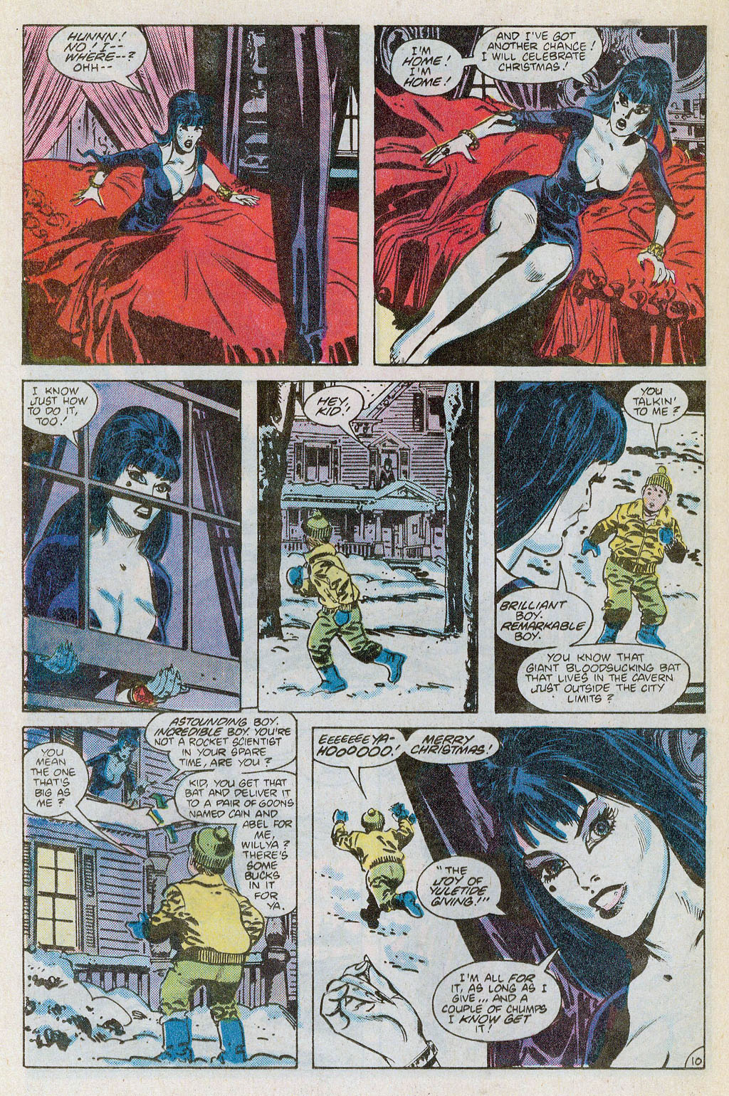 Elvira's House of Mystery _Special #1 - English 11