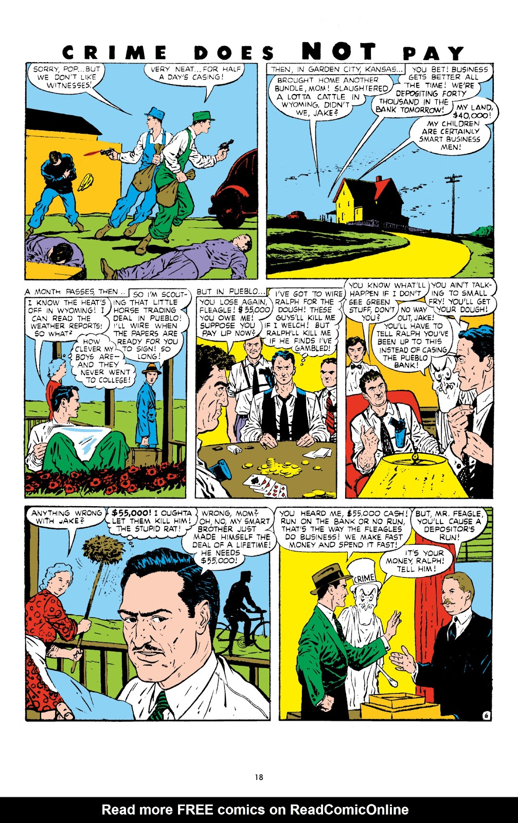 Read online Crime Does Not Pay Archives comic -  Issue # TPB 8 (Part 1) - 20