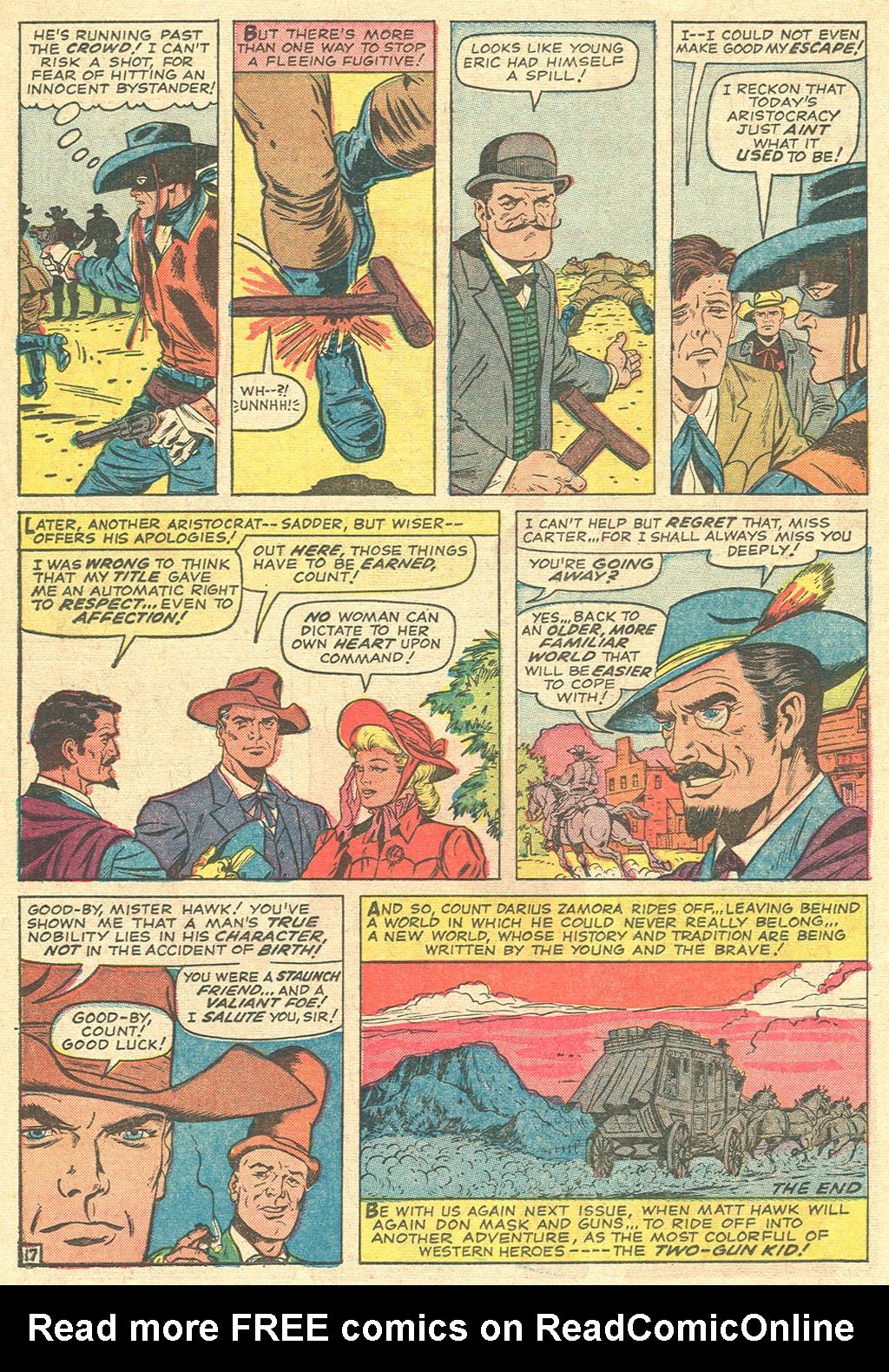 Read online Two-Gun Kid comic -  Issue #81 - 22