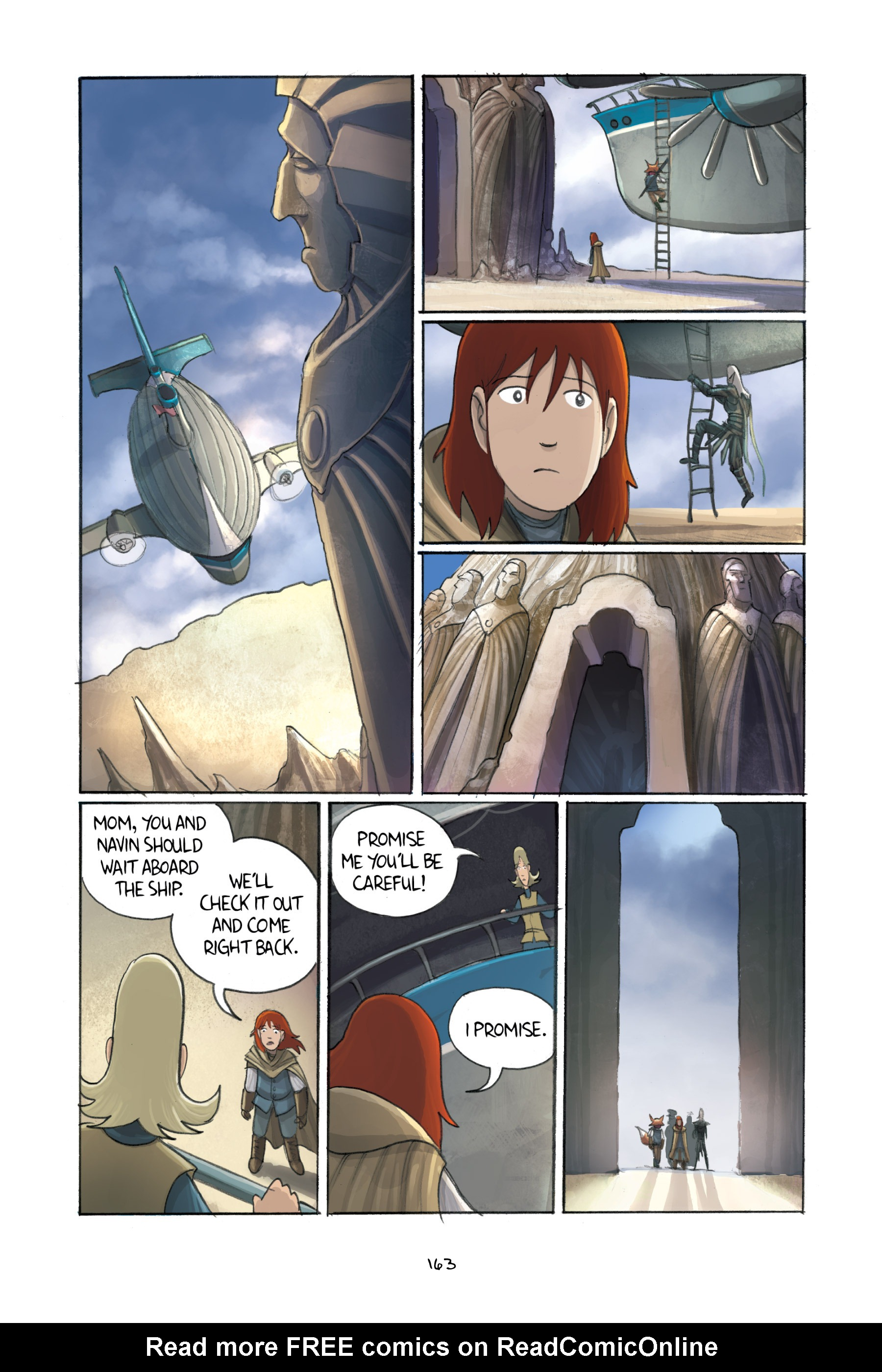 Read online Amulet comic -  Issue #3 - 159