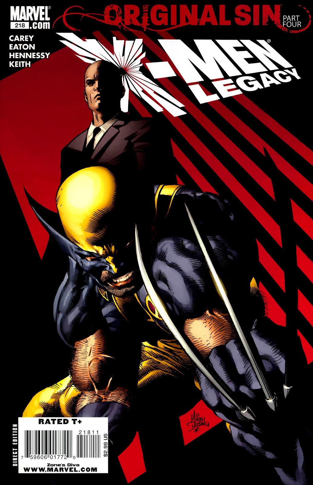 X-Men Legacy (2008) 218 Page 1