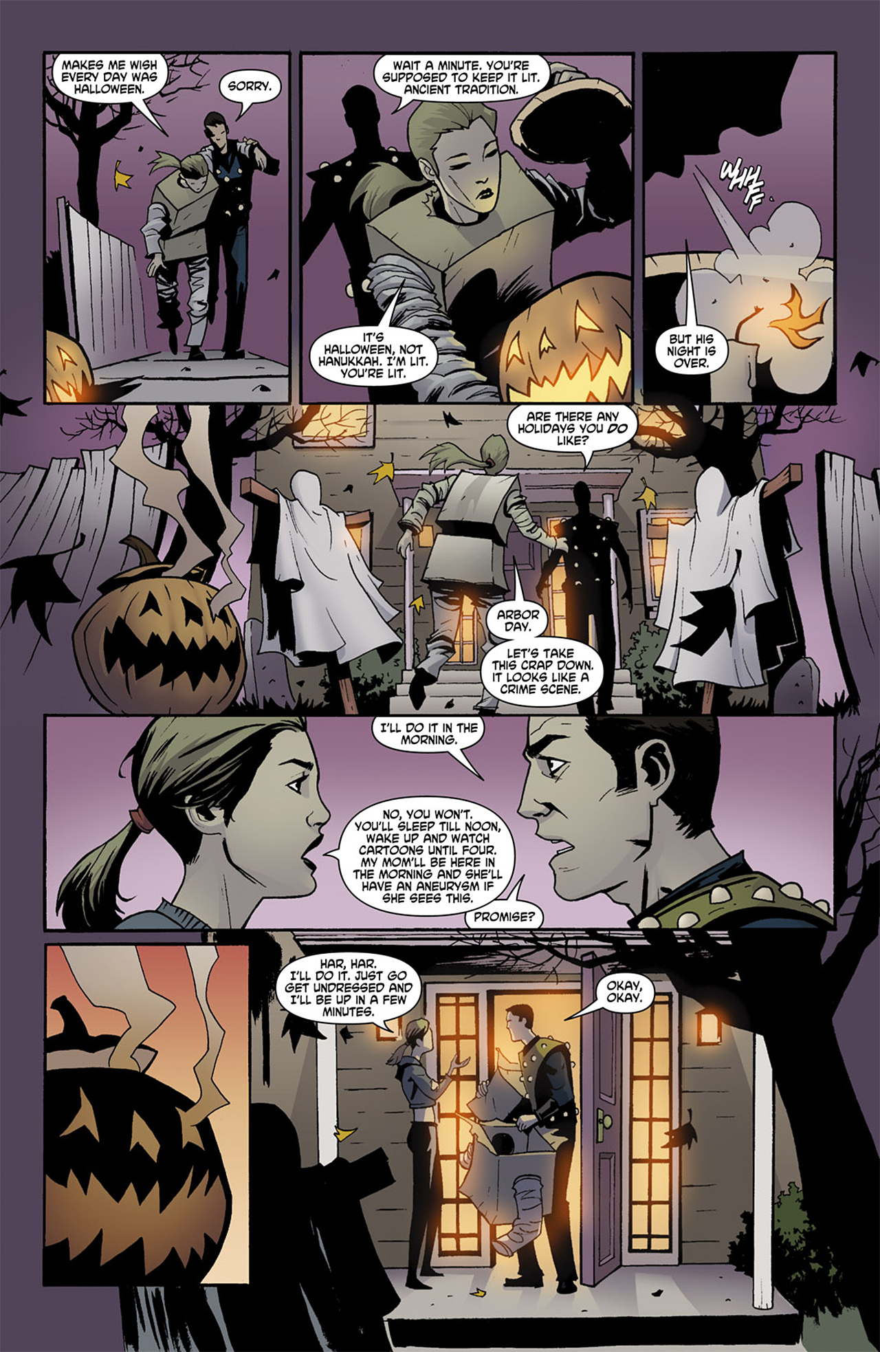 Read online Trick 'r Treat comic -  Issue #1 - 3