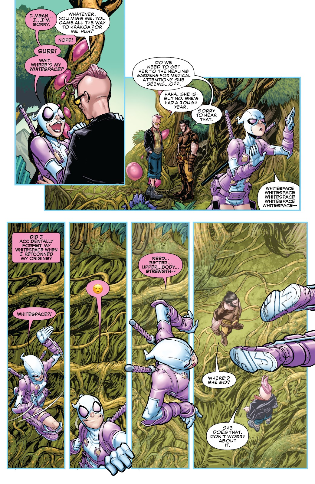 Gwenpool Strikes Back issue _TPB - Page 107