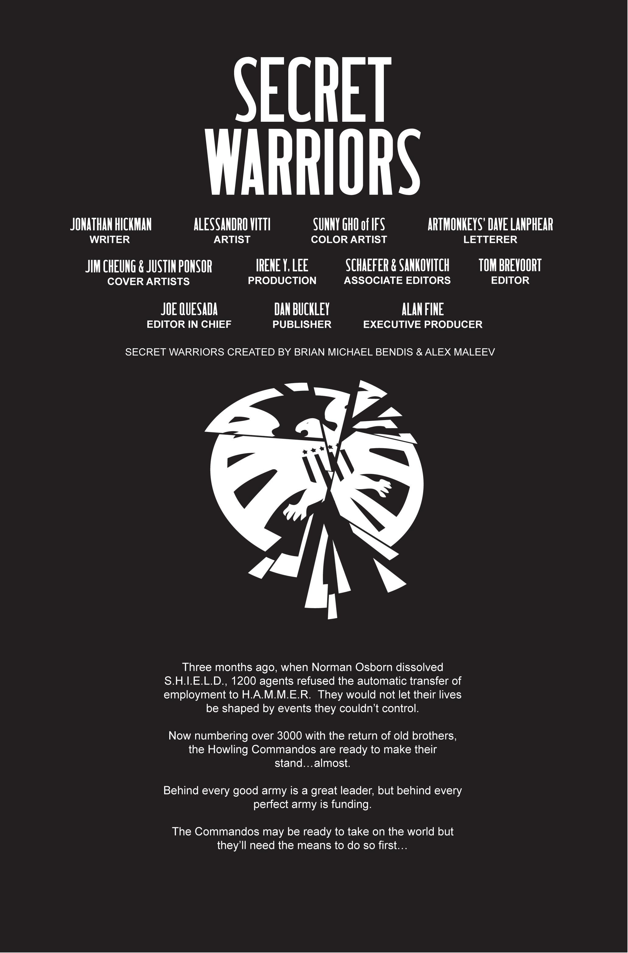 Read online Secret Warriors comic -  Issue #7 - 3