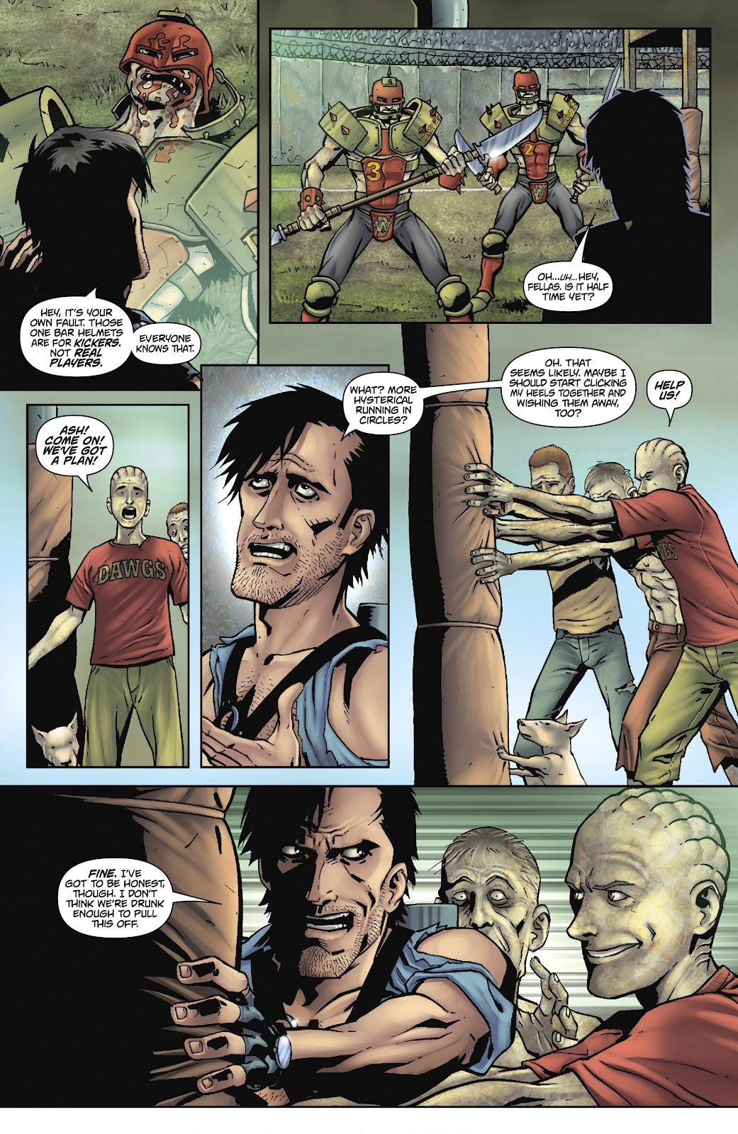 Army of Darkness: The Long Road Home issue TPB - Page 63