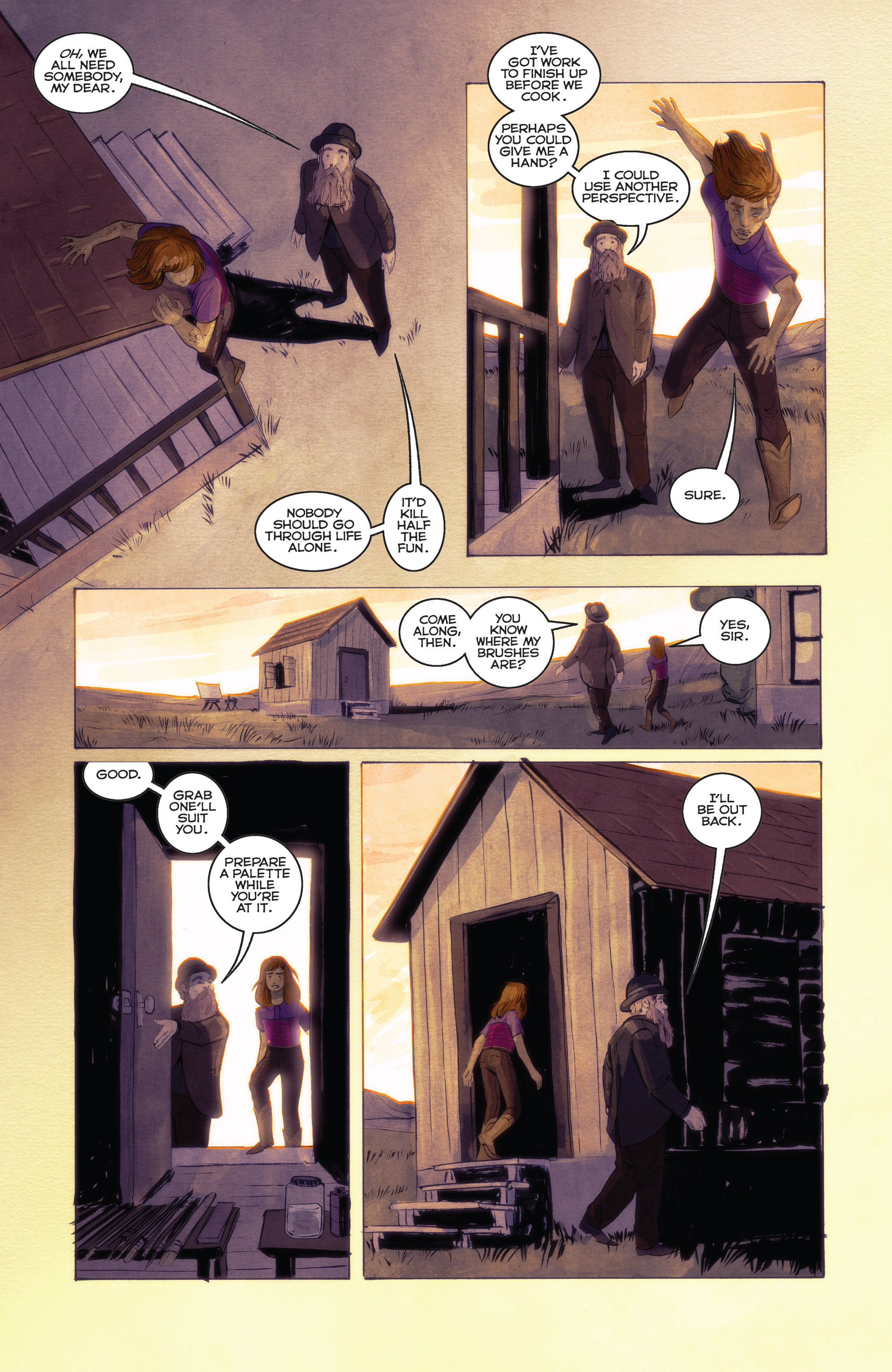 Read online Shutter comic -  Issue #24 - 9