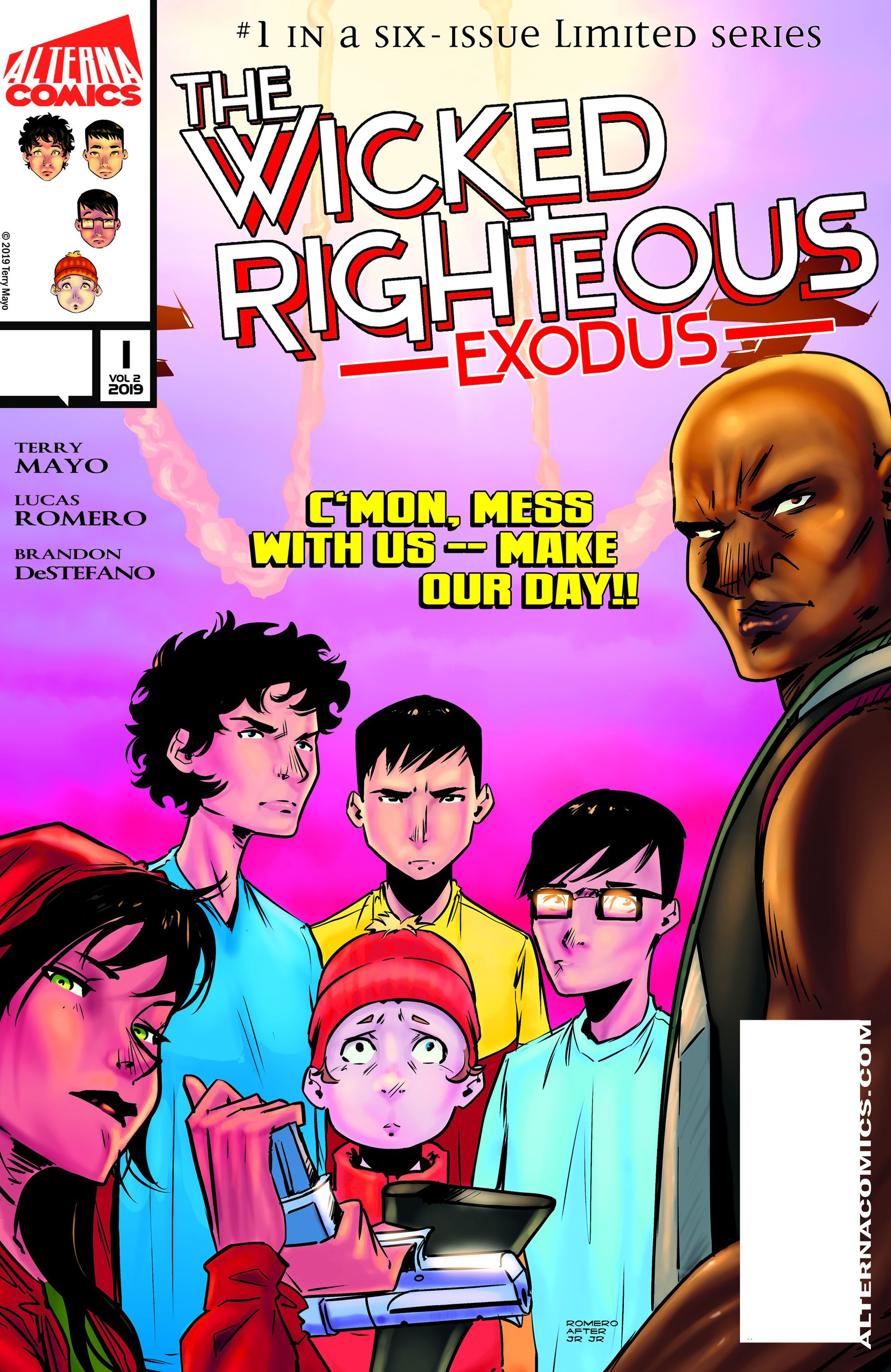 The Wicked Righteous: Exodus 1 Page 1