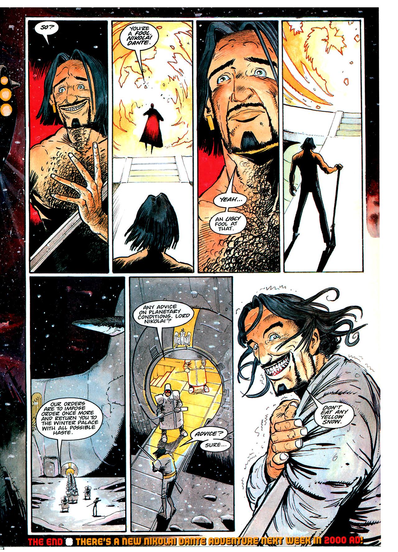 Read online Nikolai Dante comic -  Issue # TPB 1 - 177