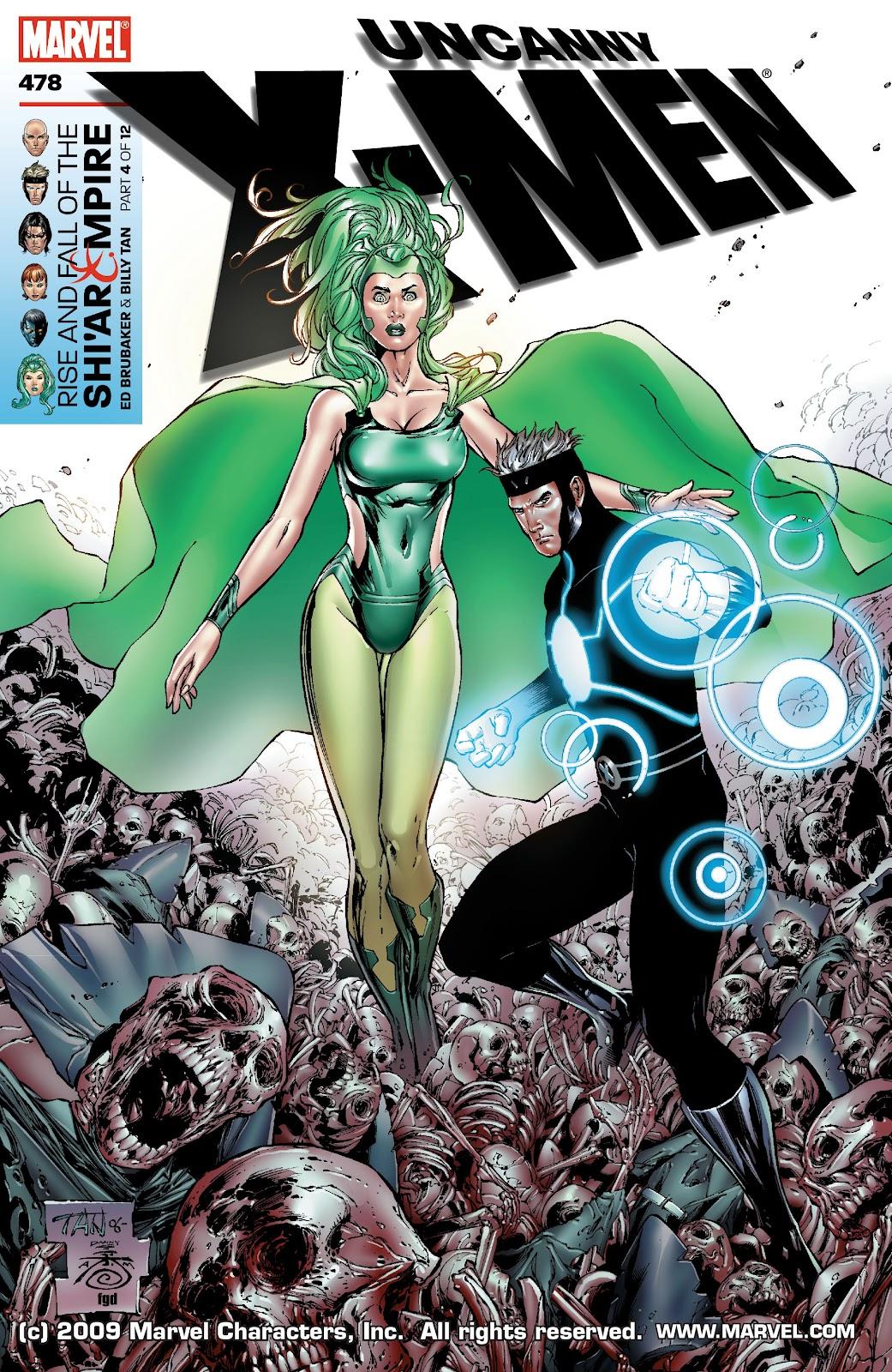 Uncanny X-Men (1963) issue 478 - Page 1