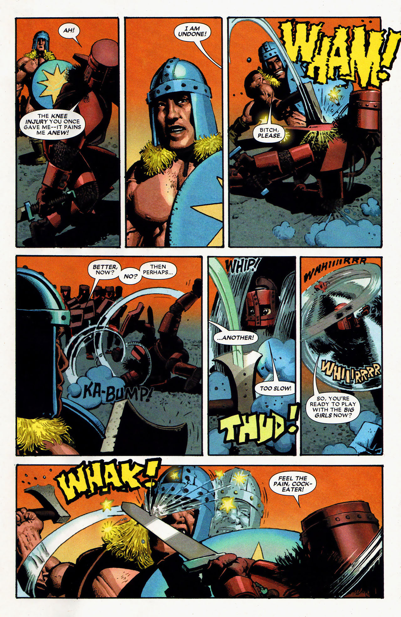 Read online Starr the Slayer comic -  Issue #4 - 6