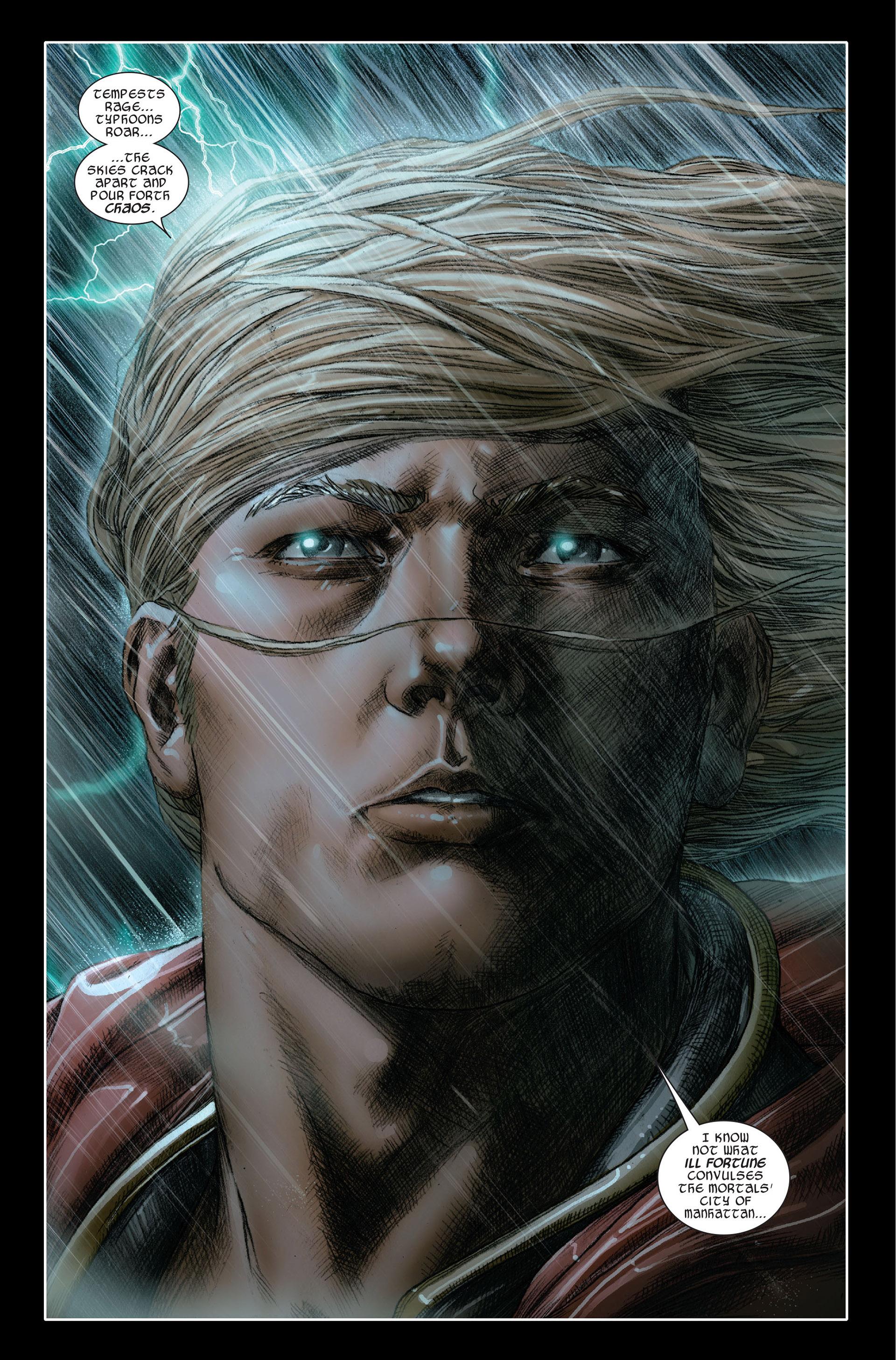 Read online Astonishing Thor comic -  Issue #1 - 2