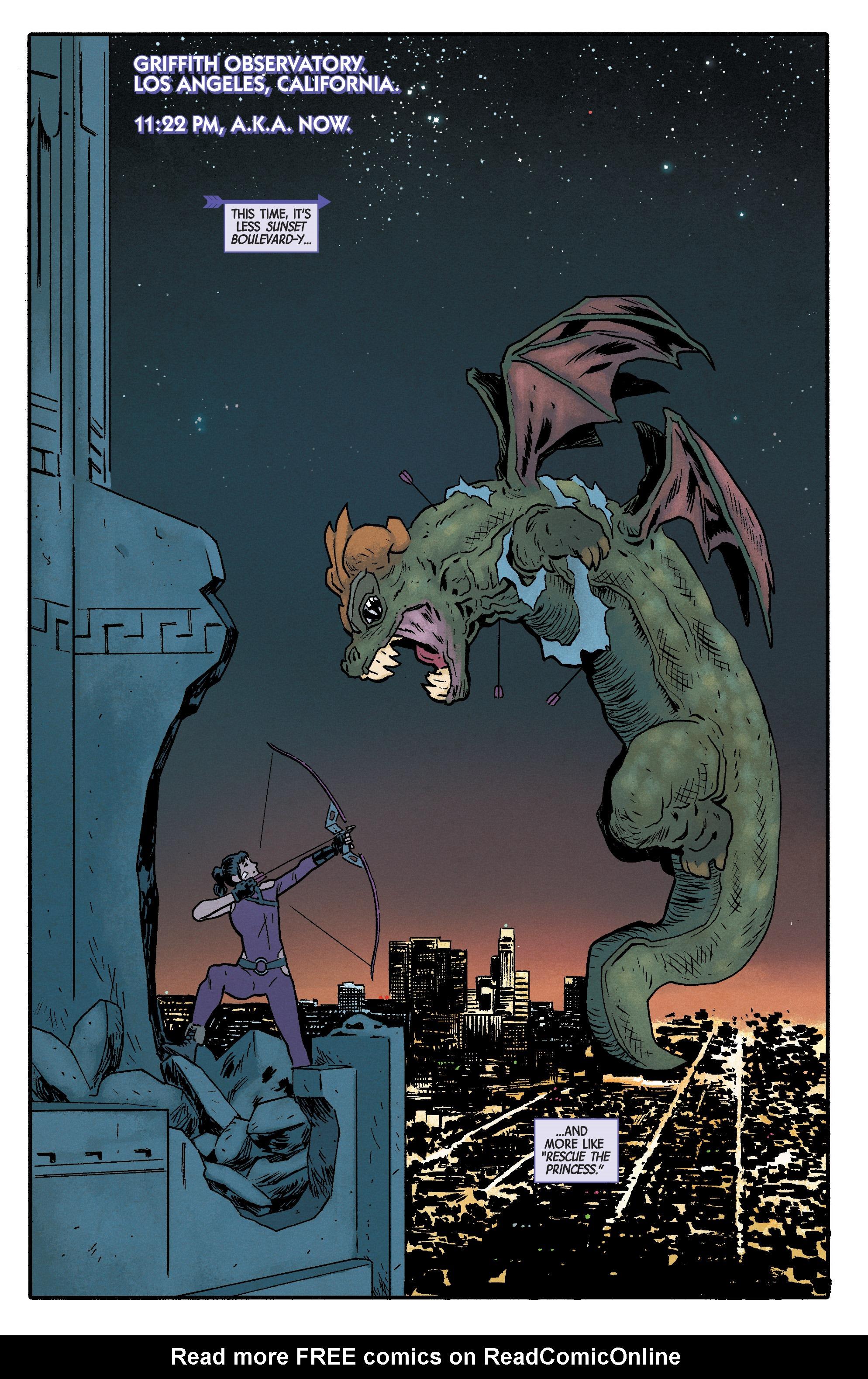 Read online Hawkeye (2016) comic -  Issue #6 - 2