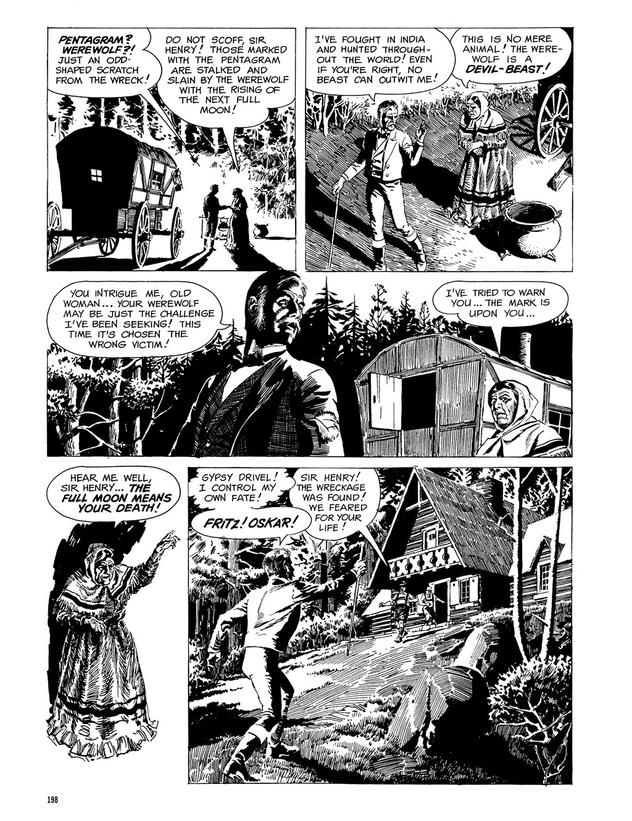 Read online Eerie Archives comic -  Issue # TPB 3 - 199