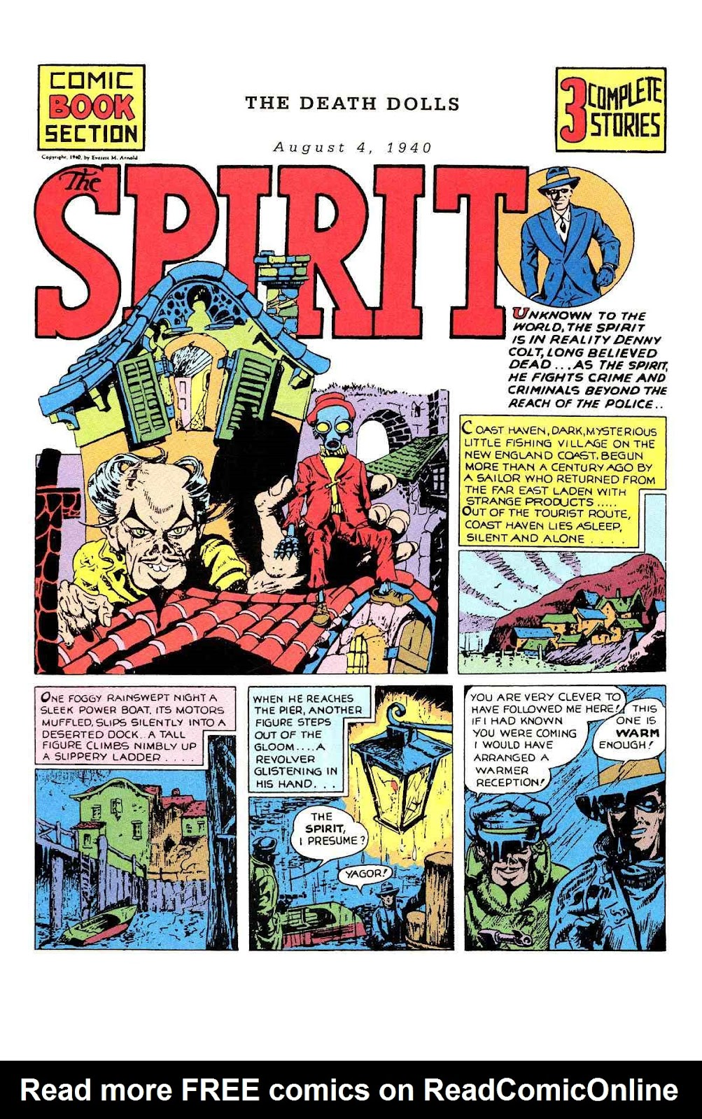 Read online Will Eisner's The Spirit Archives comic -  Issue # TPB 1 (Part 1) - 65