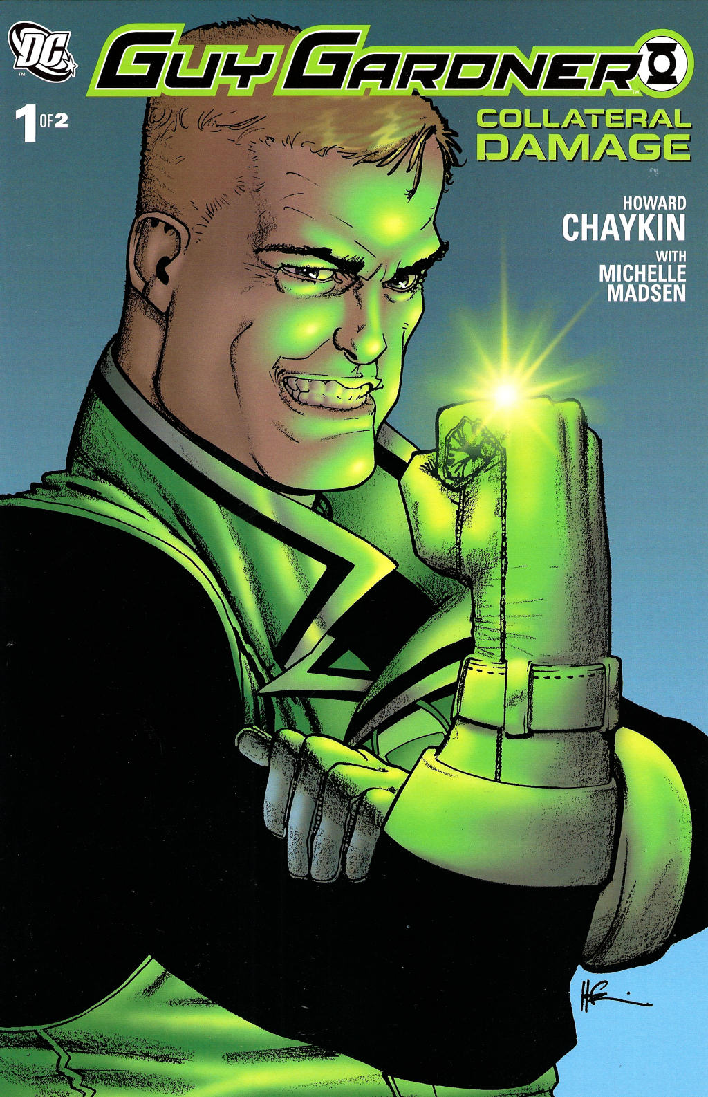 Read online Guy Gardner: Collateral Damage comic -  Issue #1 - 1