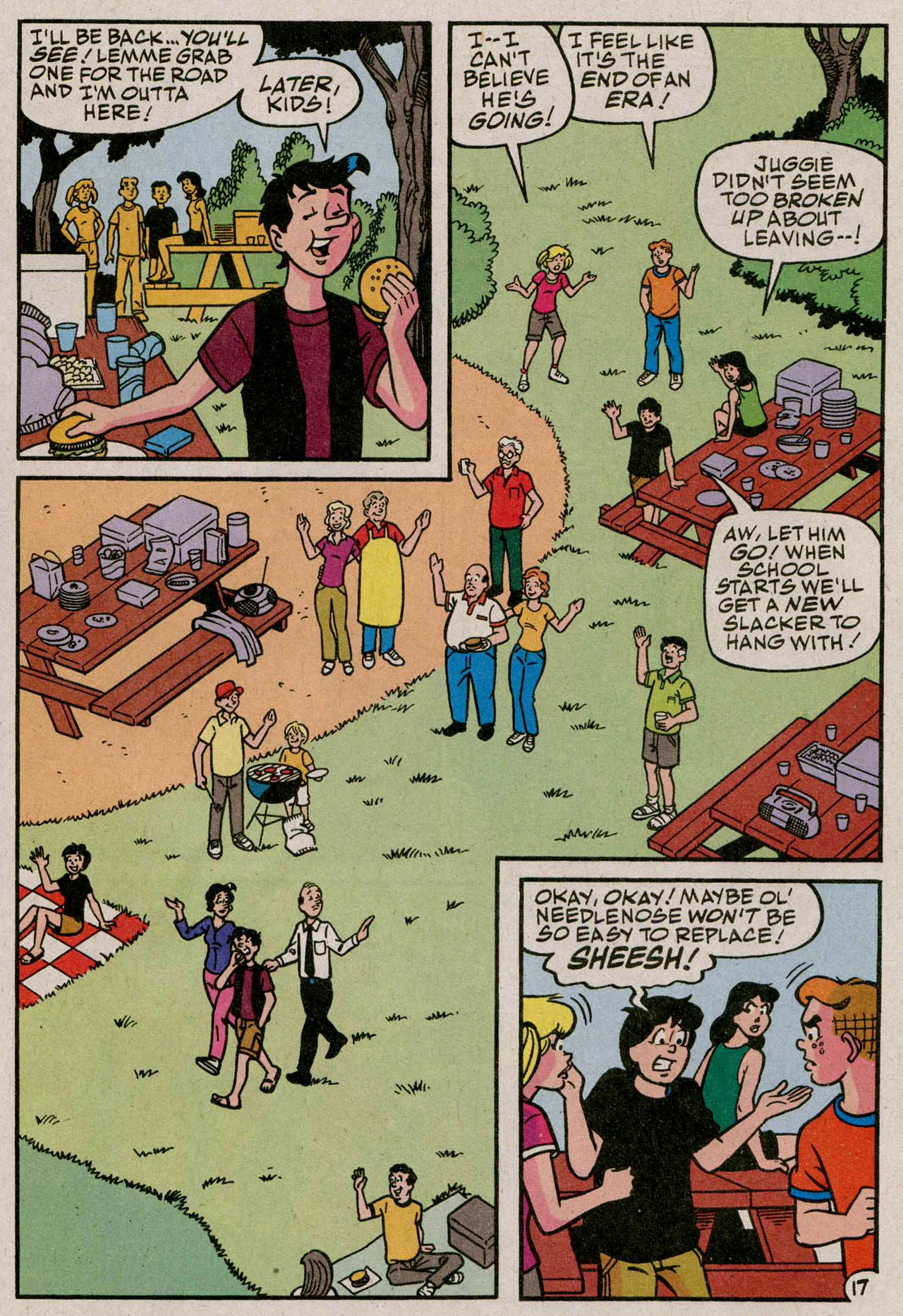 Read online Archie (1960) comic -  Issue #587 - 18