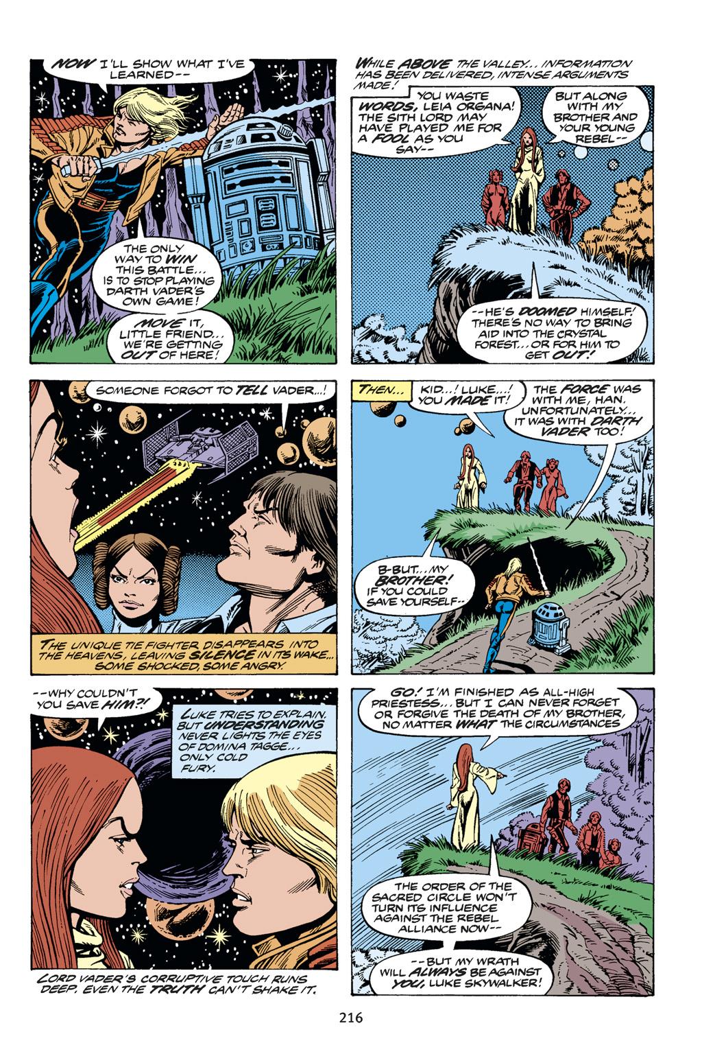 Read online Star Wars Omnibus comic -  Issue # Vol. 14 - 215