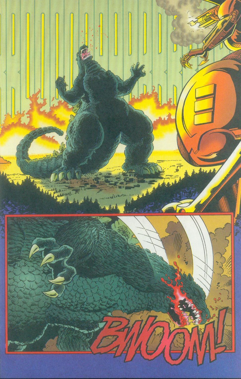 Godzilla (1995) Issue #2 #3 - English 26
