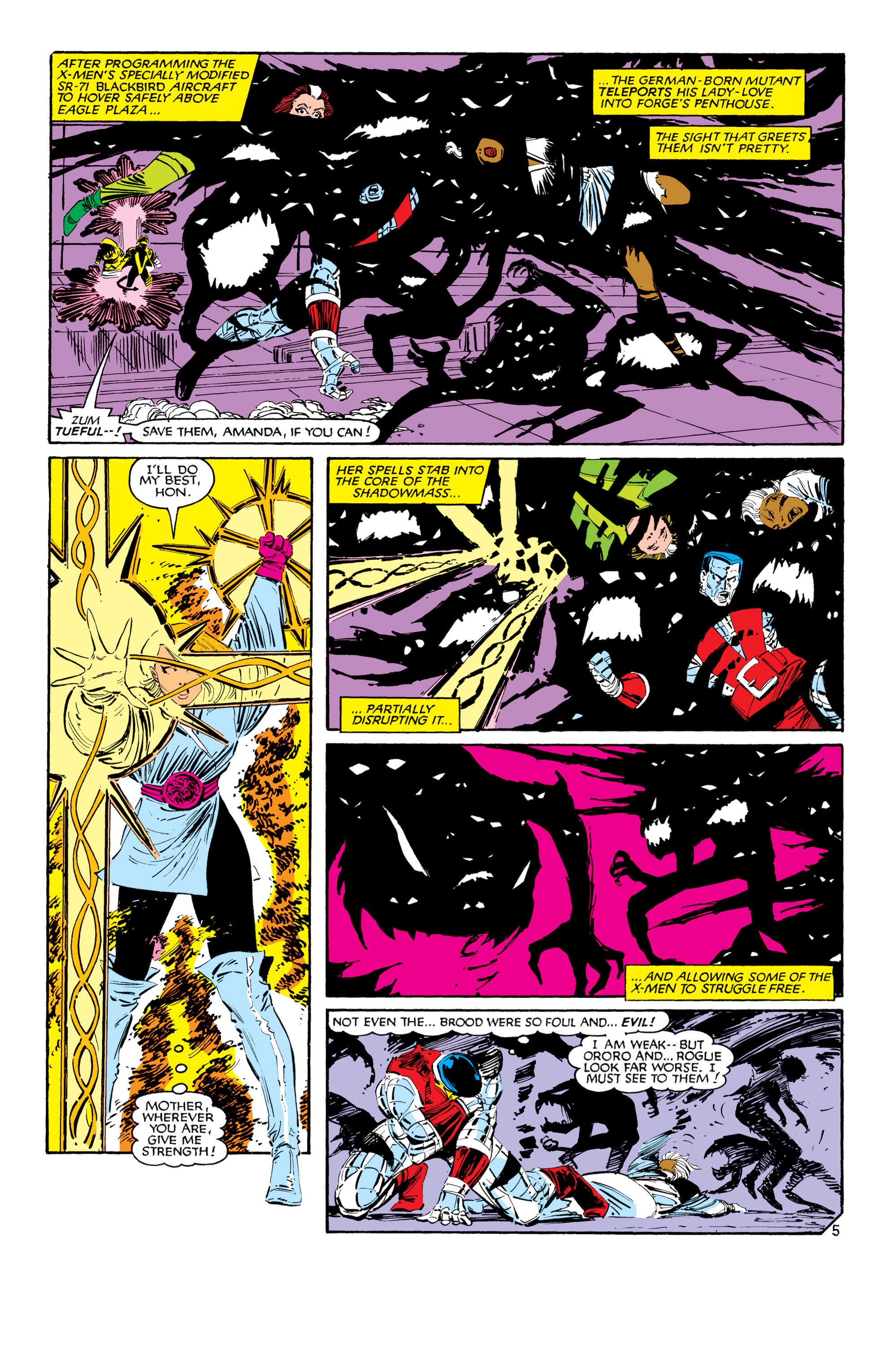 Read online Uncanny X-Men (1963) comic -  Issue #188 - 6