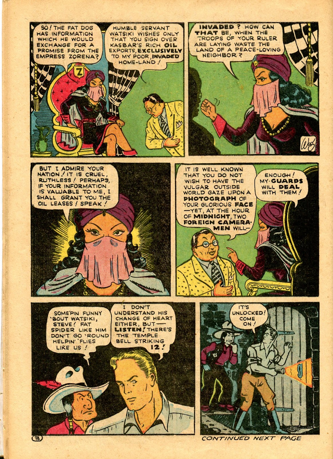 Read online Famous Funnies comic -  Issue #101 - 64